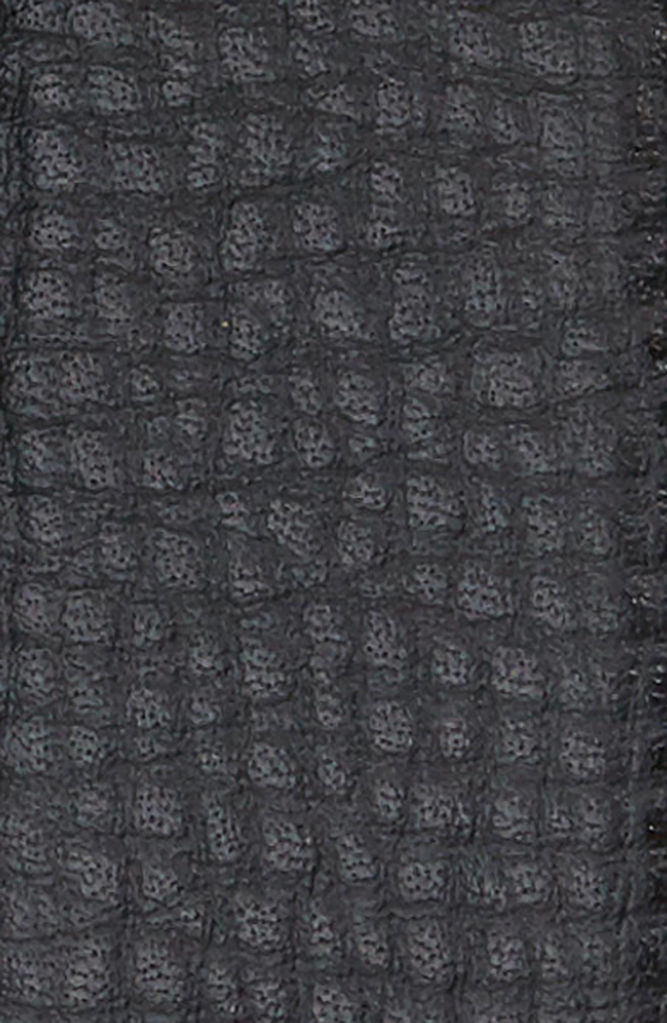 Auto Leather Belt,                             Alternate thumbnail 2, color,                             Black