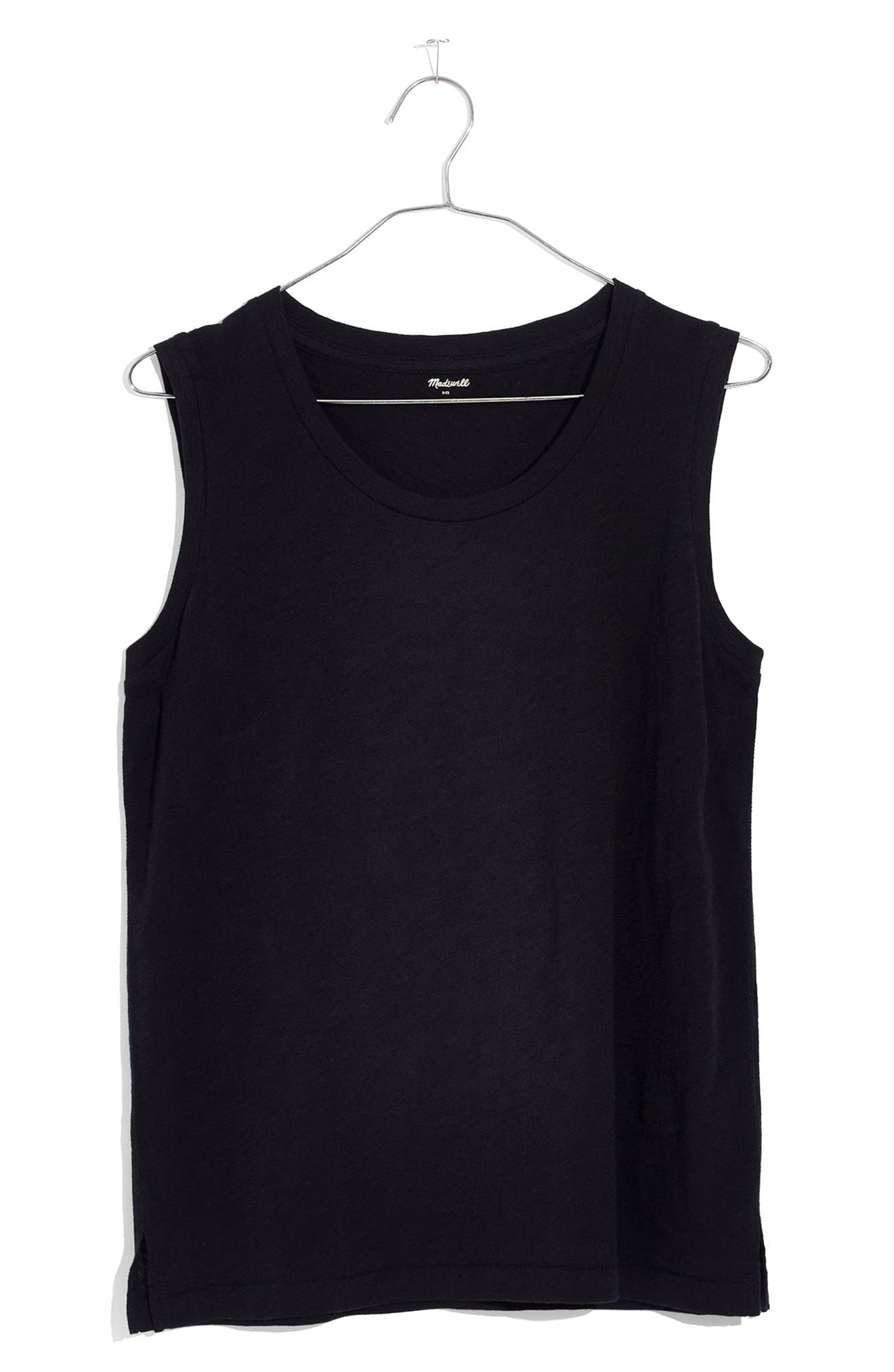 Alternate Image 1 Selected - Madewell Whisper Cotton Crewneck Muscle Tank