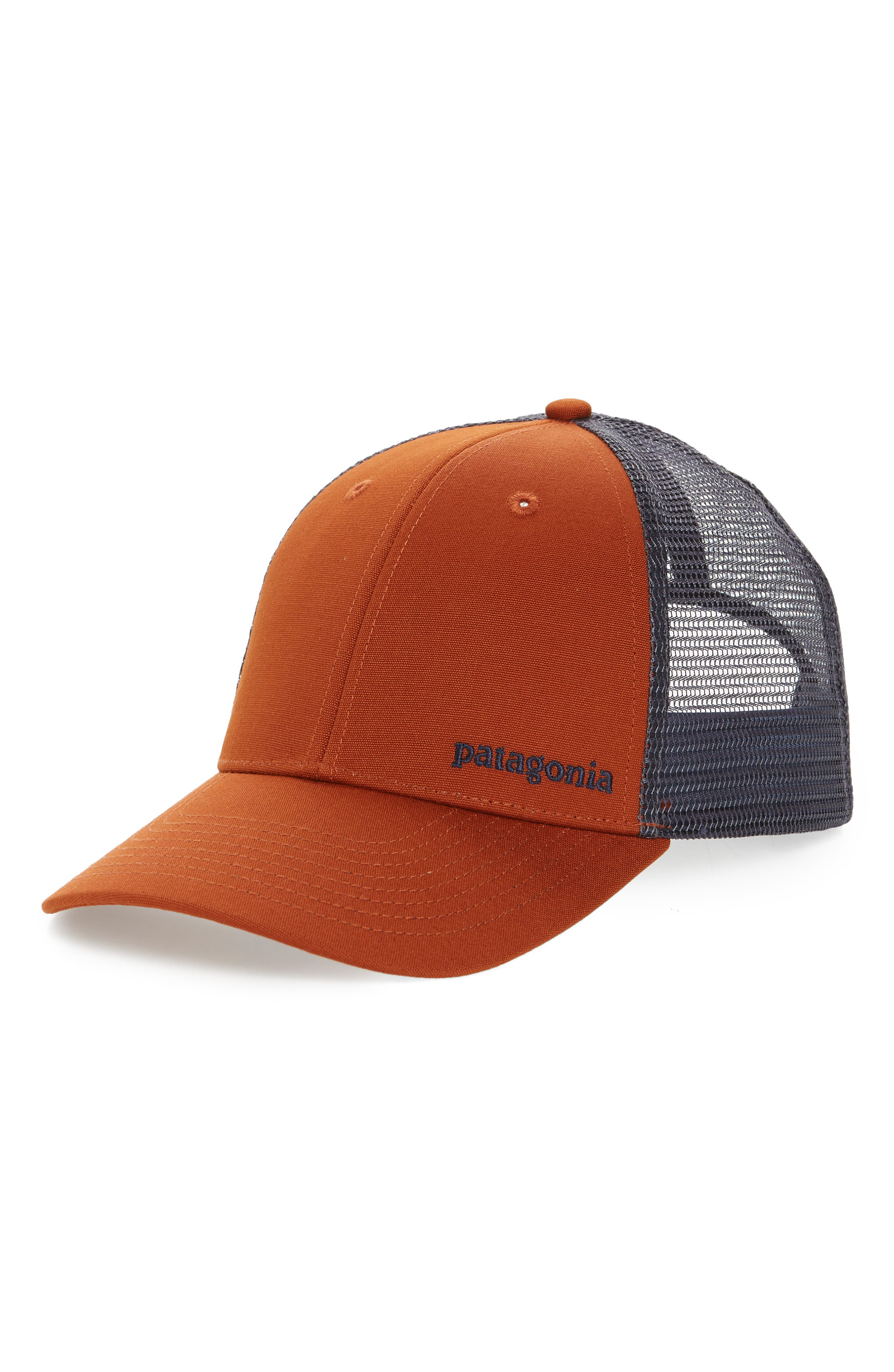 Patagonia Text Logo Trucker Hat