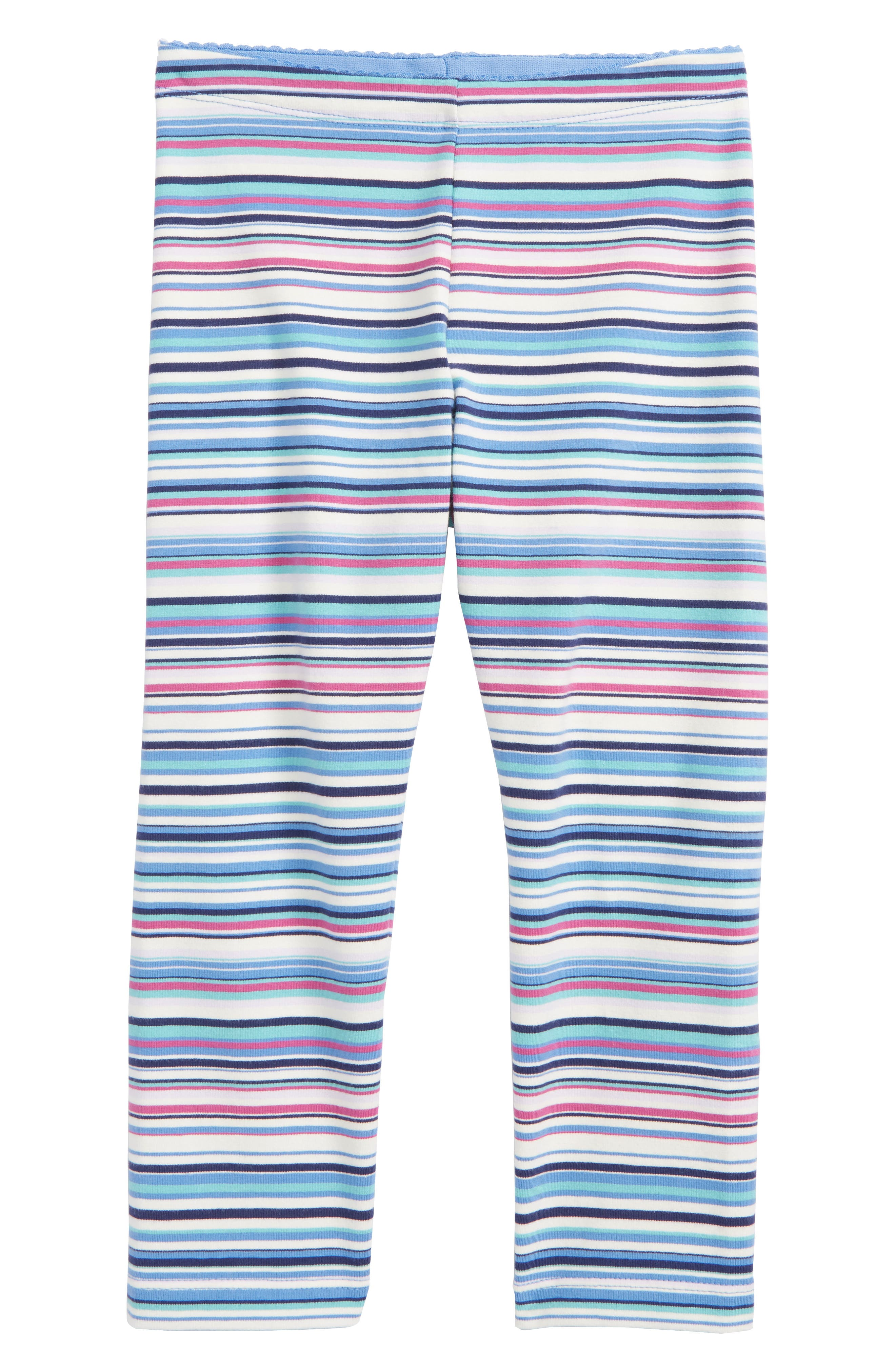 Multicolor Stripe Capri Leggings,                         Main,                         color, Blue Yarrow