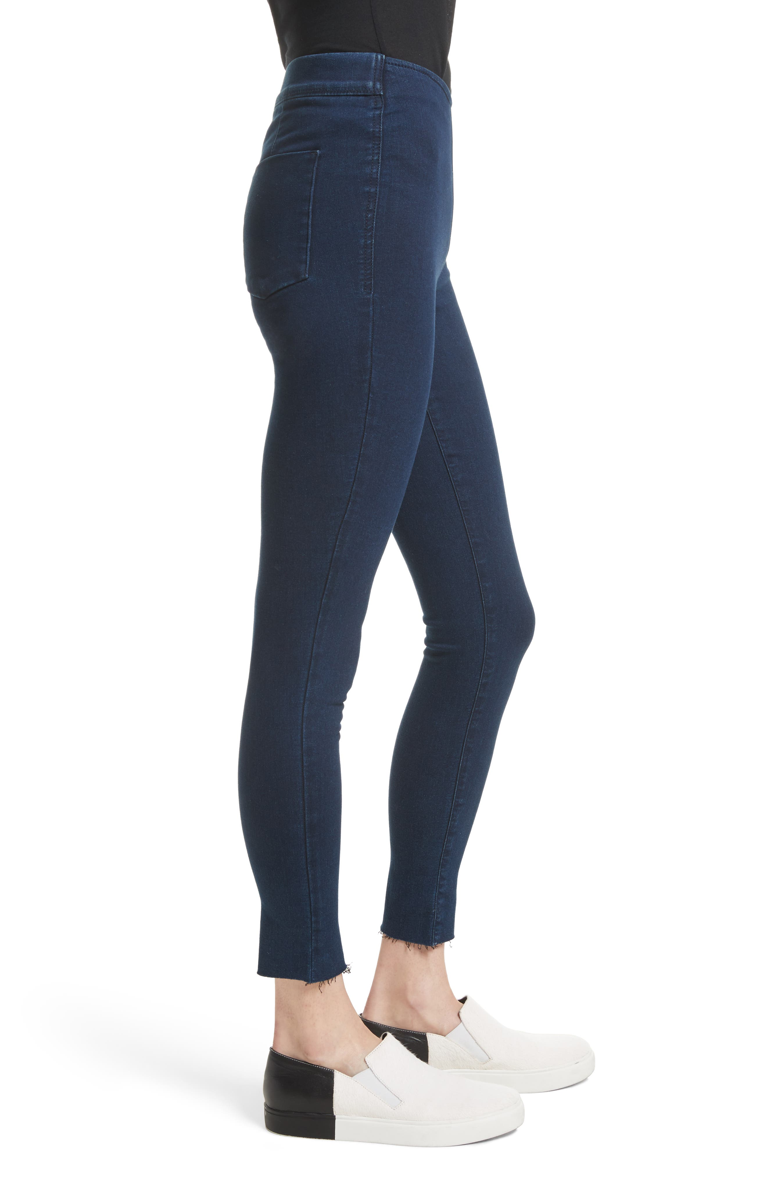 Easy Goes It Leggings,                             Alternate thumbnail 3, color,                             Dark Denim