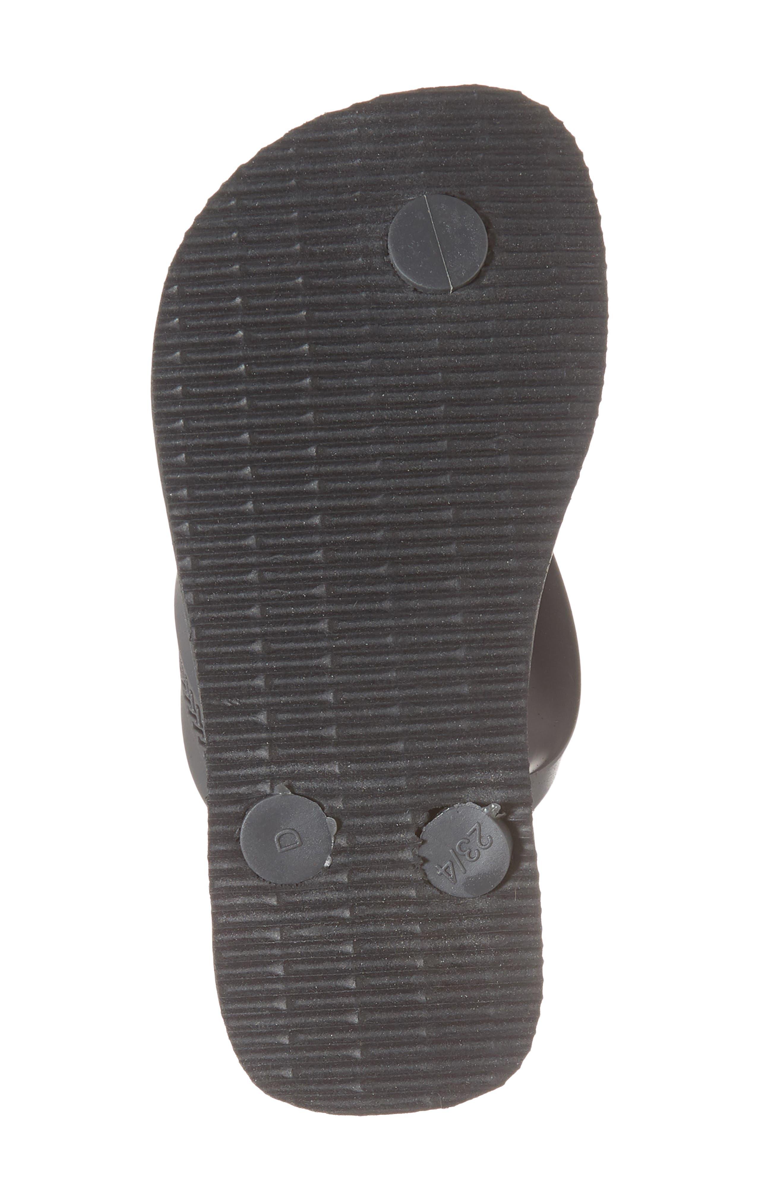 'Max' Flip-Flop,                             Alternate thumbnail 6, color,                             Graphite/ Ice Grey