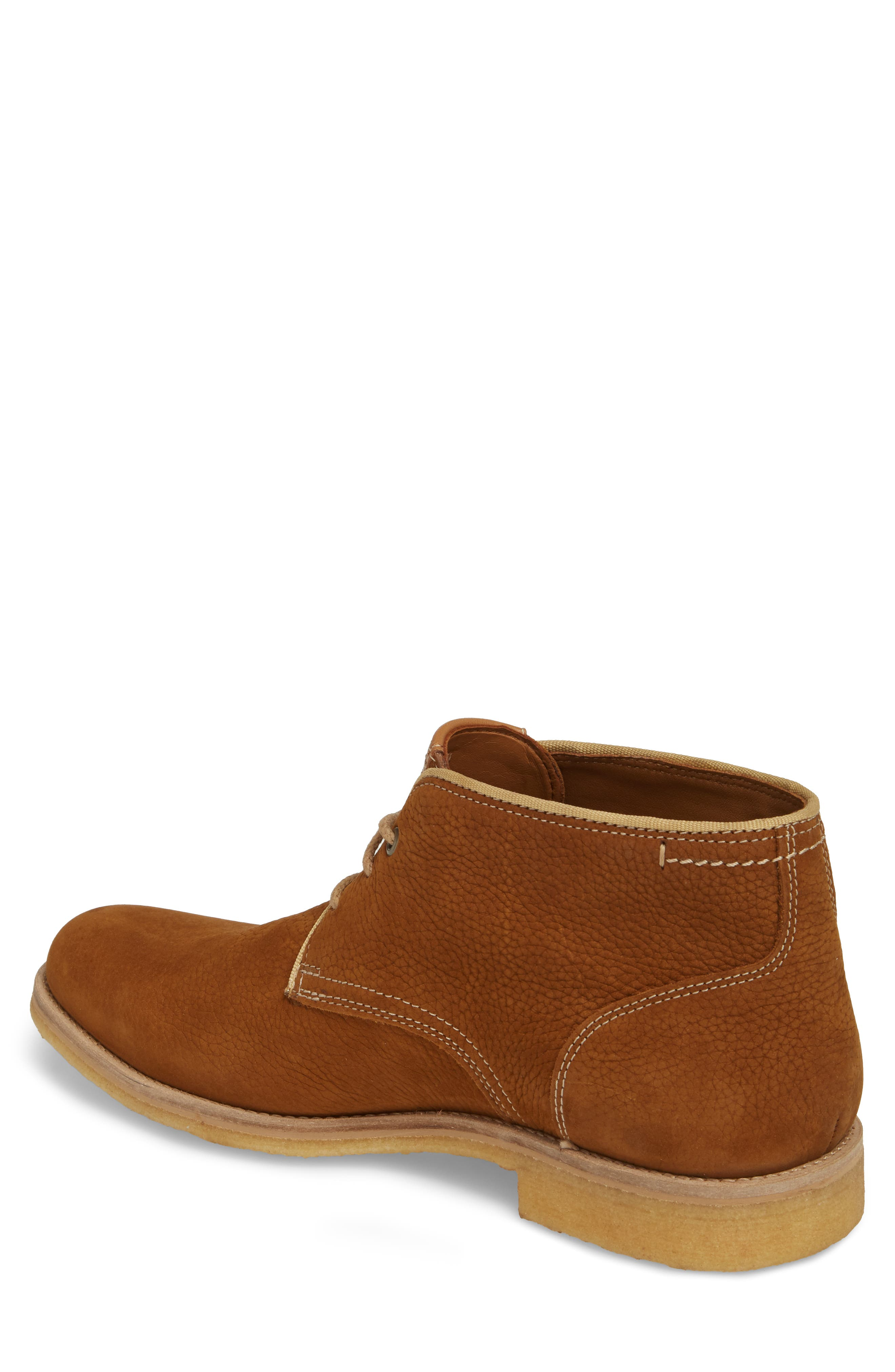 Howell Water Resistant Chukka Boot,                             Alternate thumbnail 2, color,                             Tan Nubuck Leather