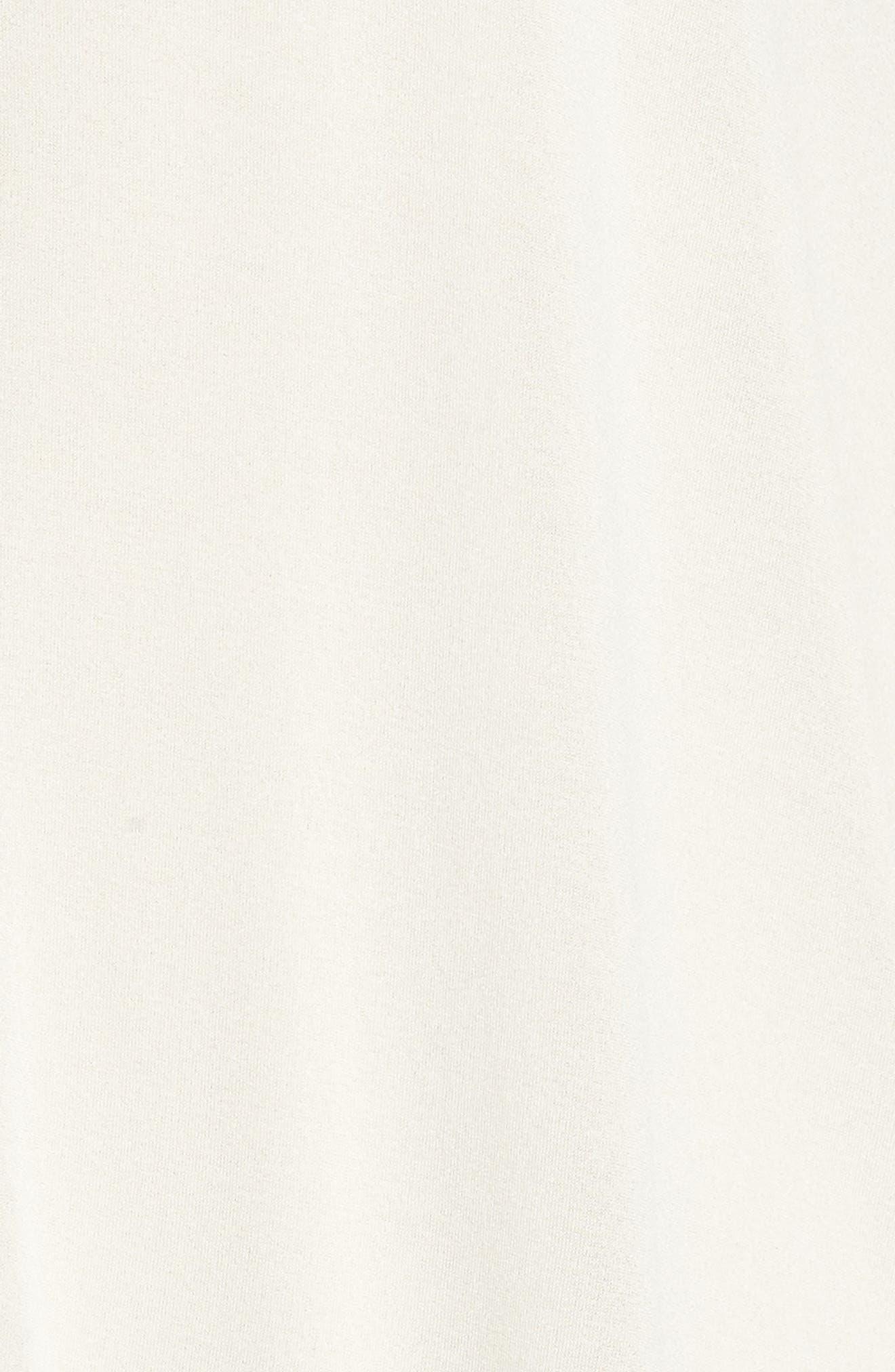 Sheer Silk Cardigan,                             Alternate thumbnail 6, color,                             Bone