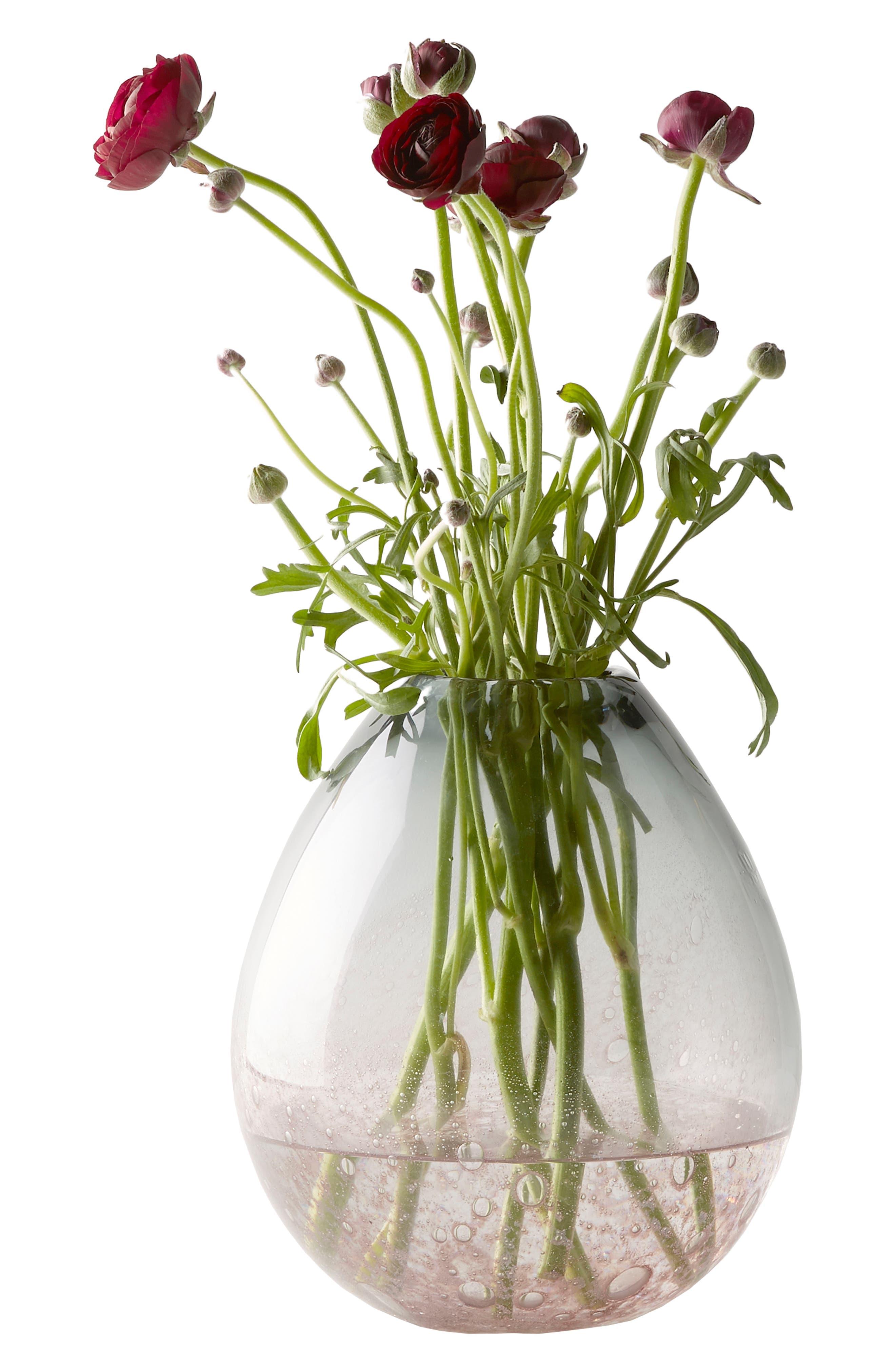 Carmen Short Vase,                             Alternate thumbnail 2, color,                             Purple