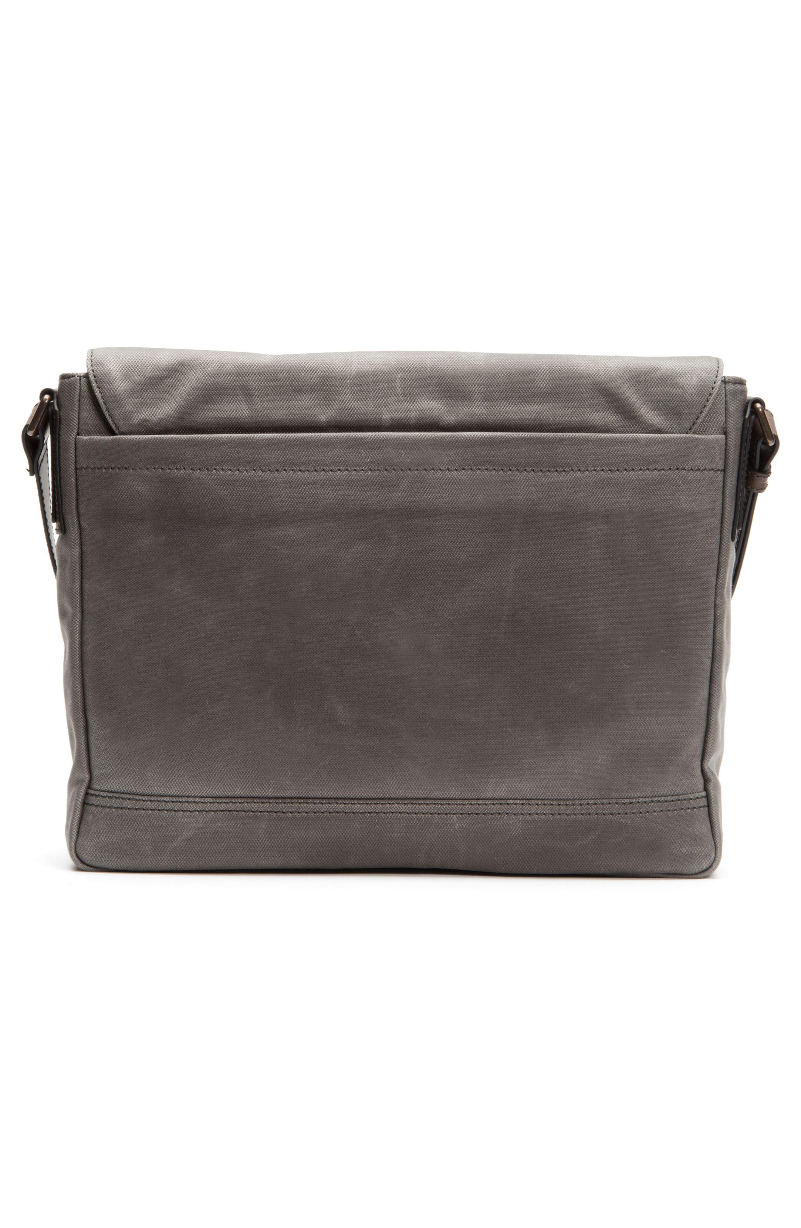 Frey Carter Messenger Bag,                             Alternate thumbnail 3, color,                             Slate