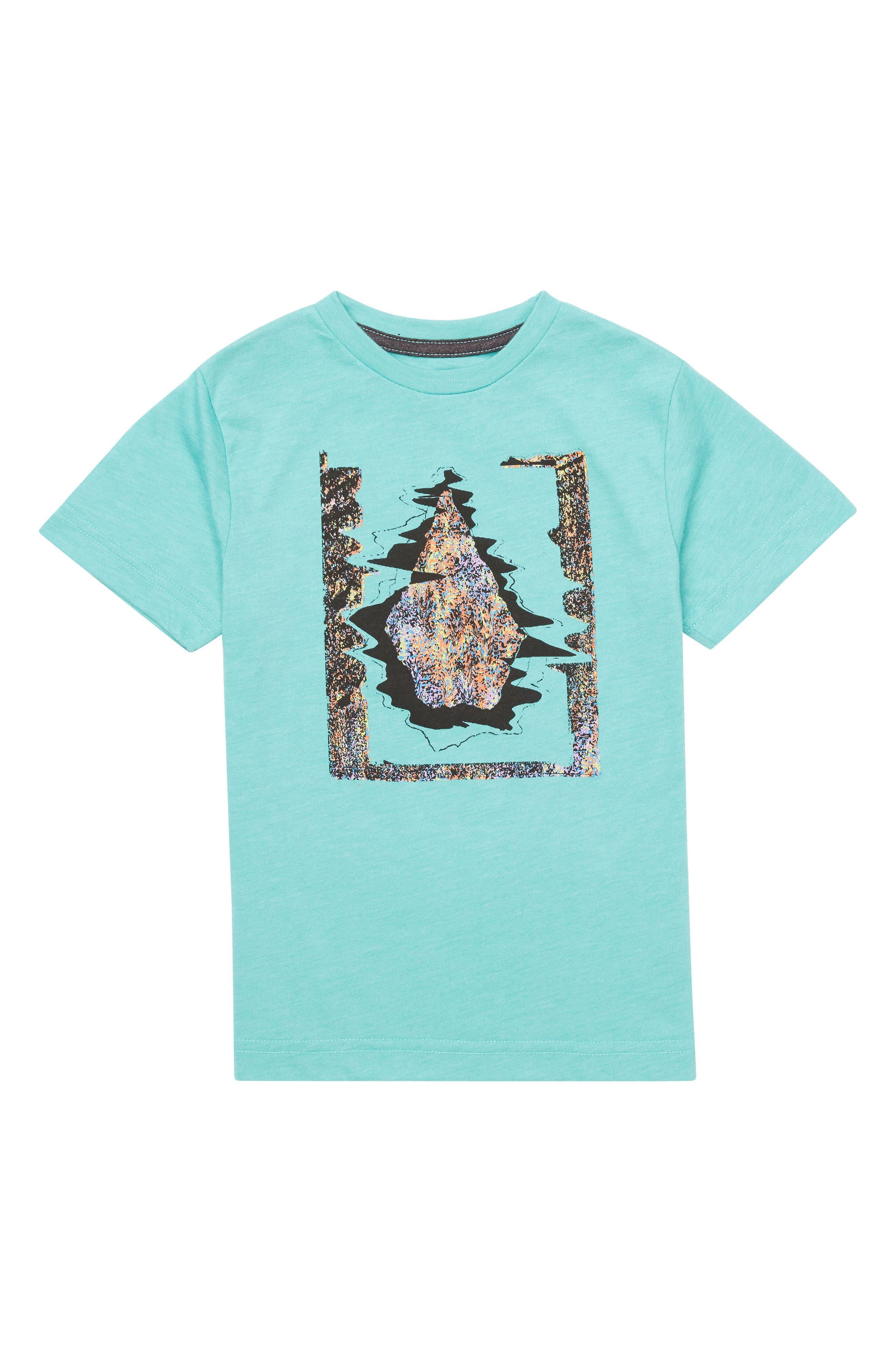 Statiq Graphic T-Shirt,                             Main thumbnail 1, color,                             Turquoise