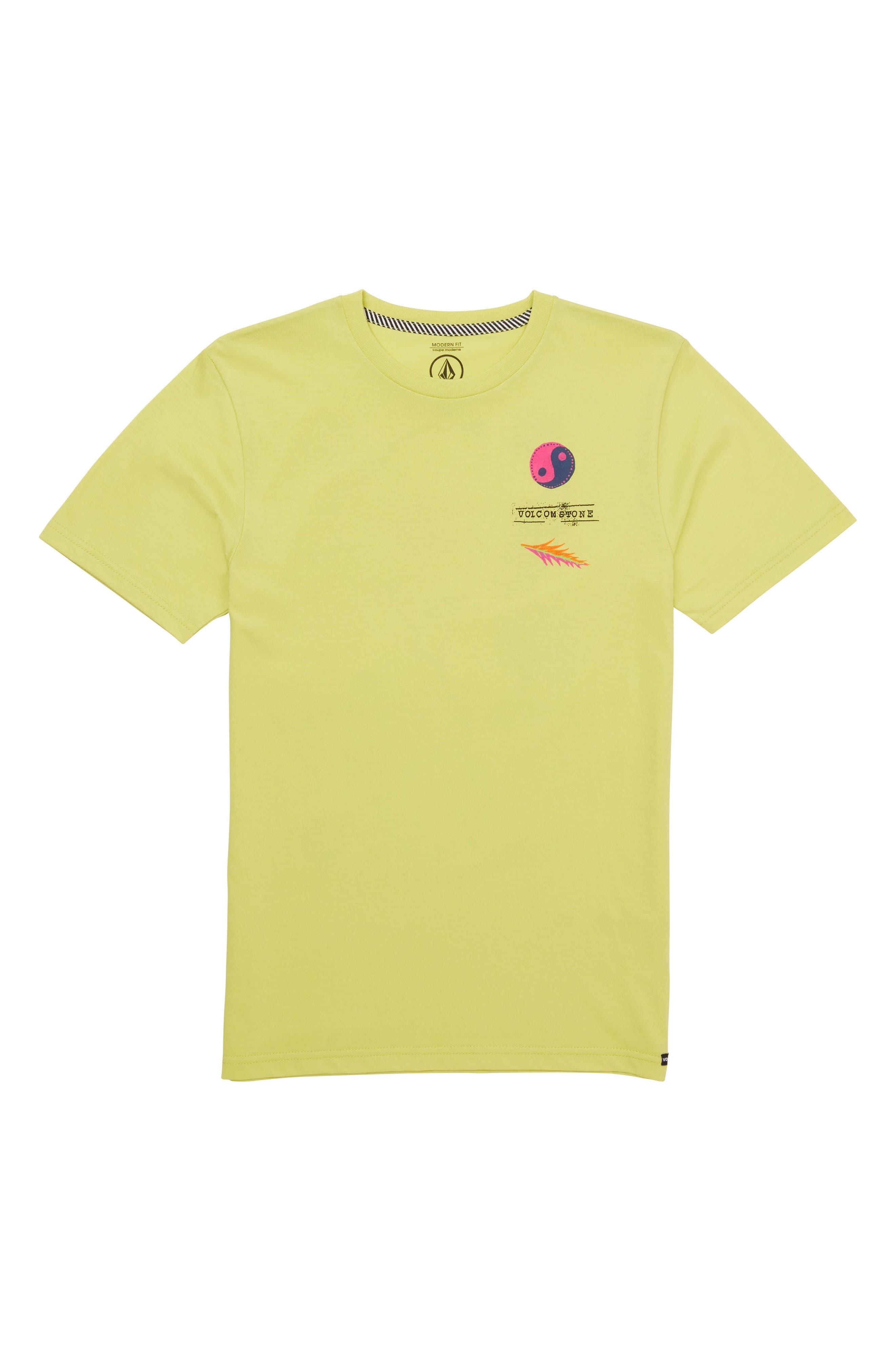 Volcom Neon Levitate Graphic T-Shirt (Big Boys)