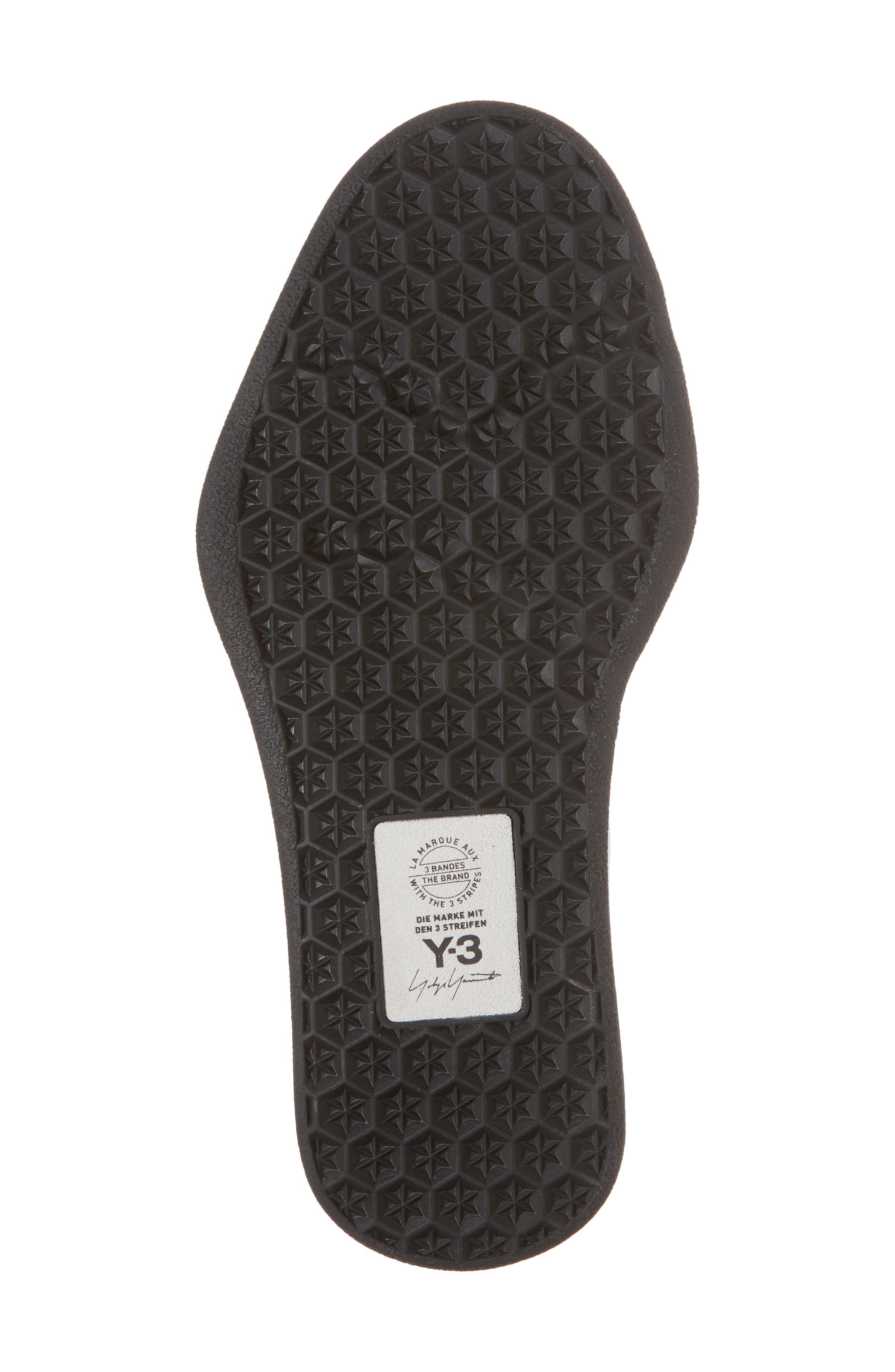 Bashyo High Top Sneaker,                             Alternate thumbnail 6, color,                             White/ Black