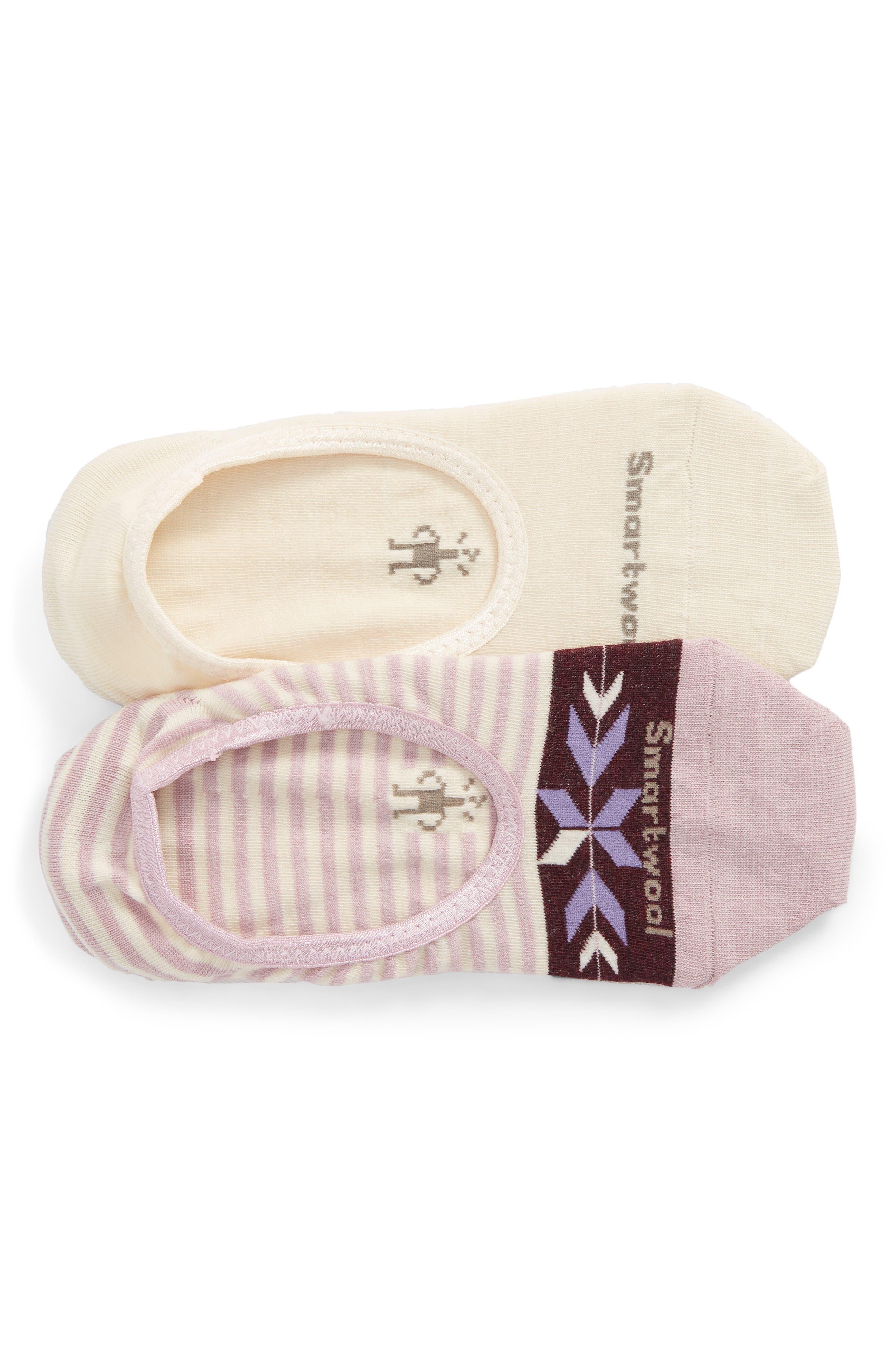 2-Pack Hide & Seek No-Show Socks,                         Main,                         color, Multi Color B