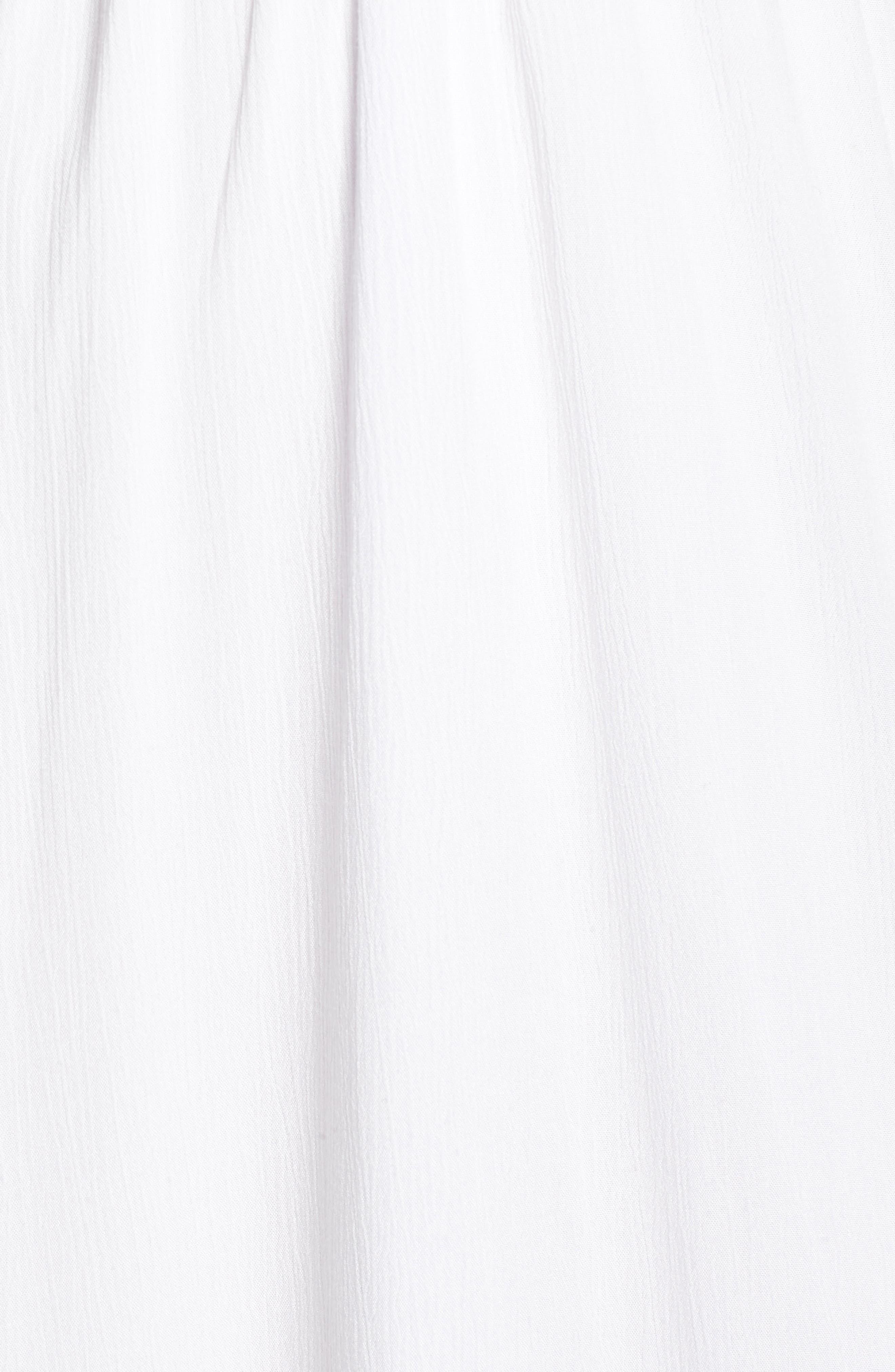 Babylon Cutout Dress,                             Alternate thumbnail 6, color,                             Ivory