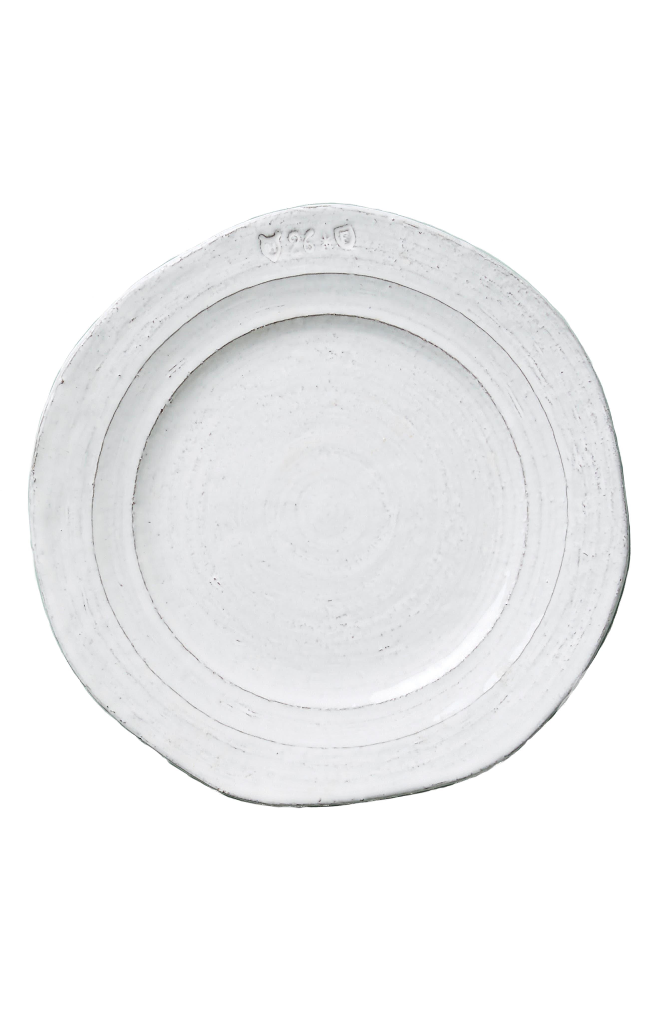 Glenna Side Plate,                             Alternate thumbnail 4, color,                             White