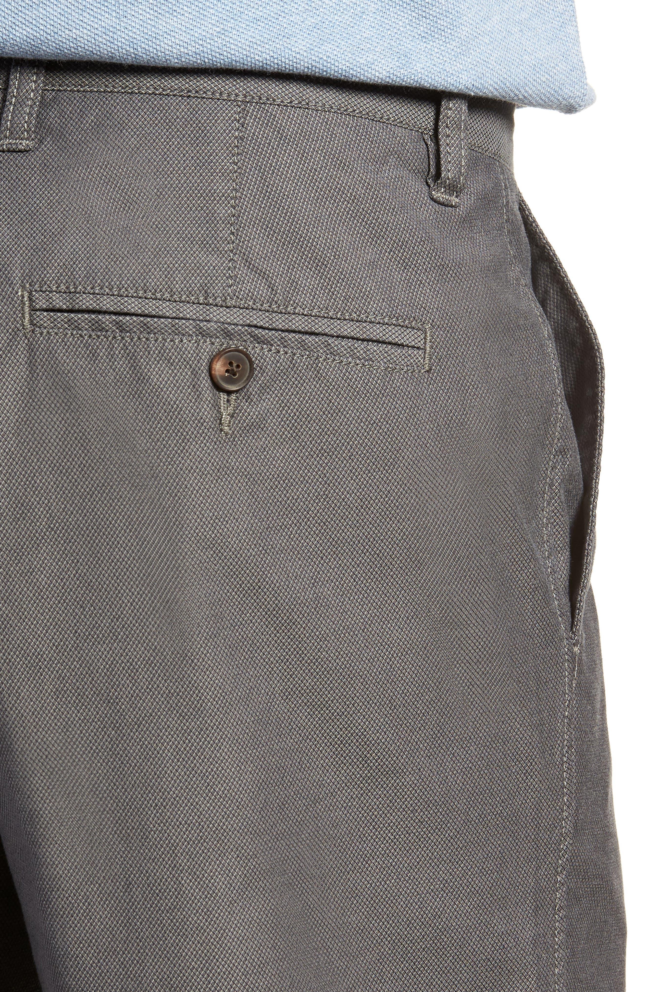 Army Bay Regular Fit Shorts,                             Alternate thumbnail 4, color,                             Granite