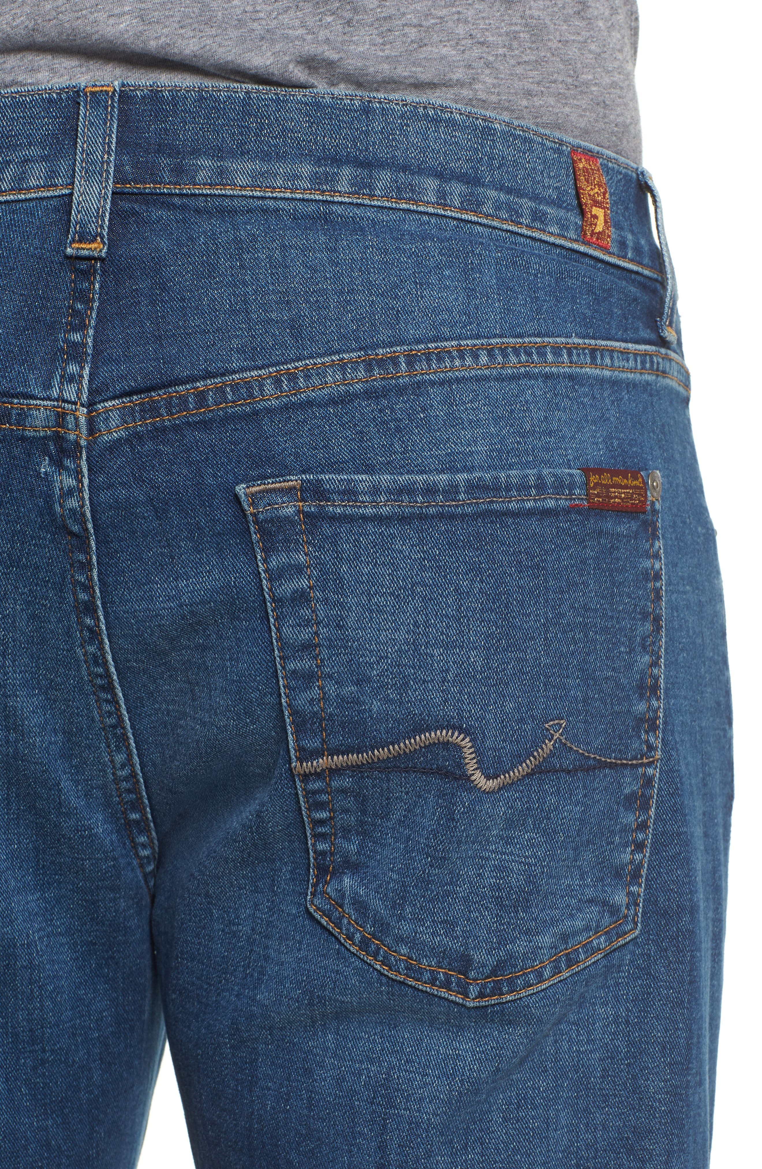 Austyn Relaxed Fit Jeans,                             Alternate thumbnail 4, color,                             Oasis