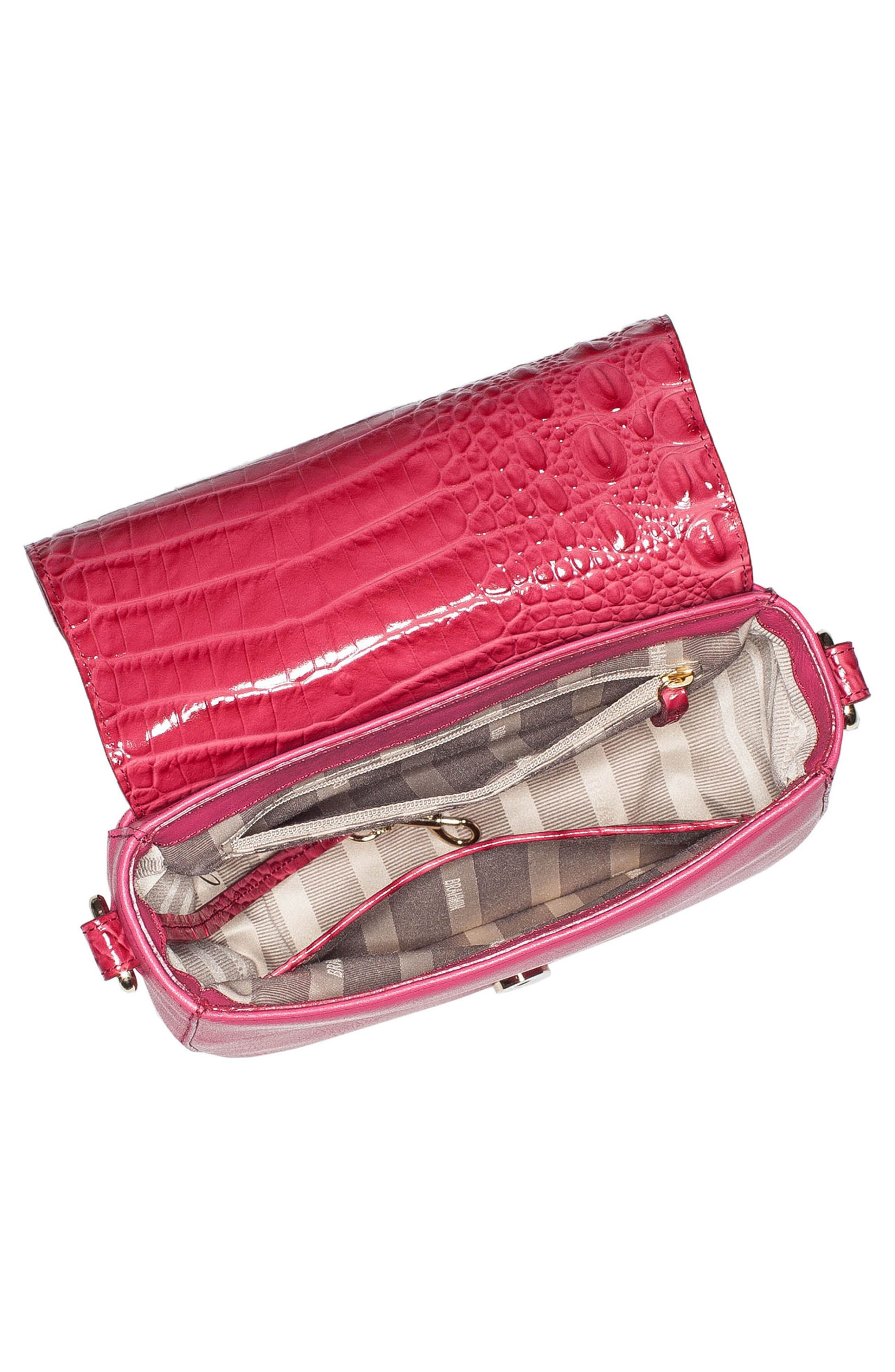 Mini Sonny Whipstitched Leather Crossbody Bag,                             Alternate thumbnail 2, color,                             Ribbon