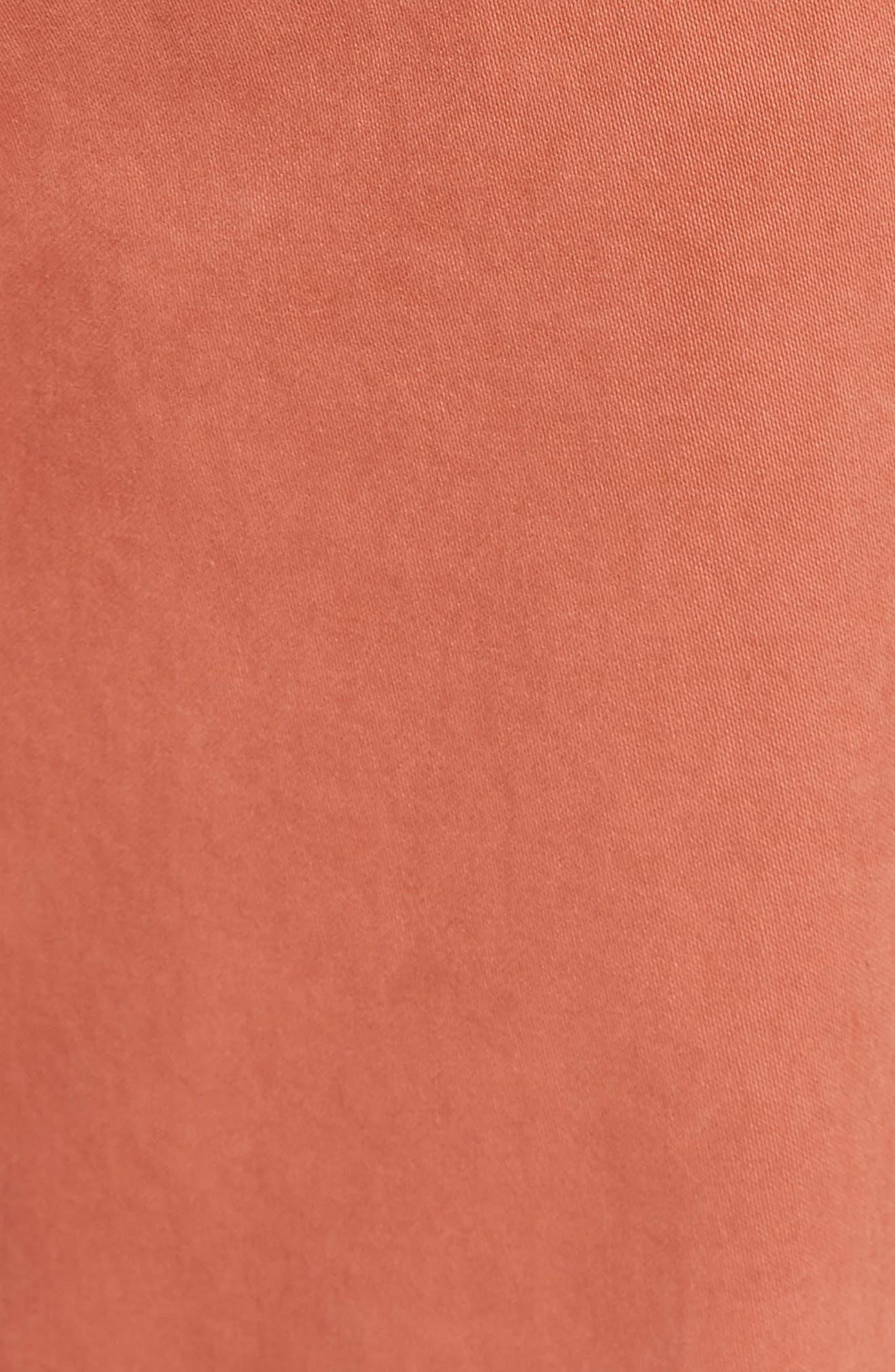 Graduate SUD Slim Straight Leg Pants,                             Alternate thumbnail 5, color,                             Sulfur Rosso Red