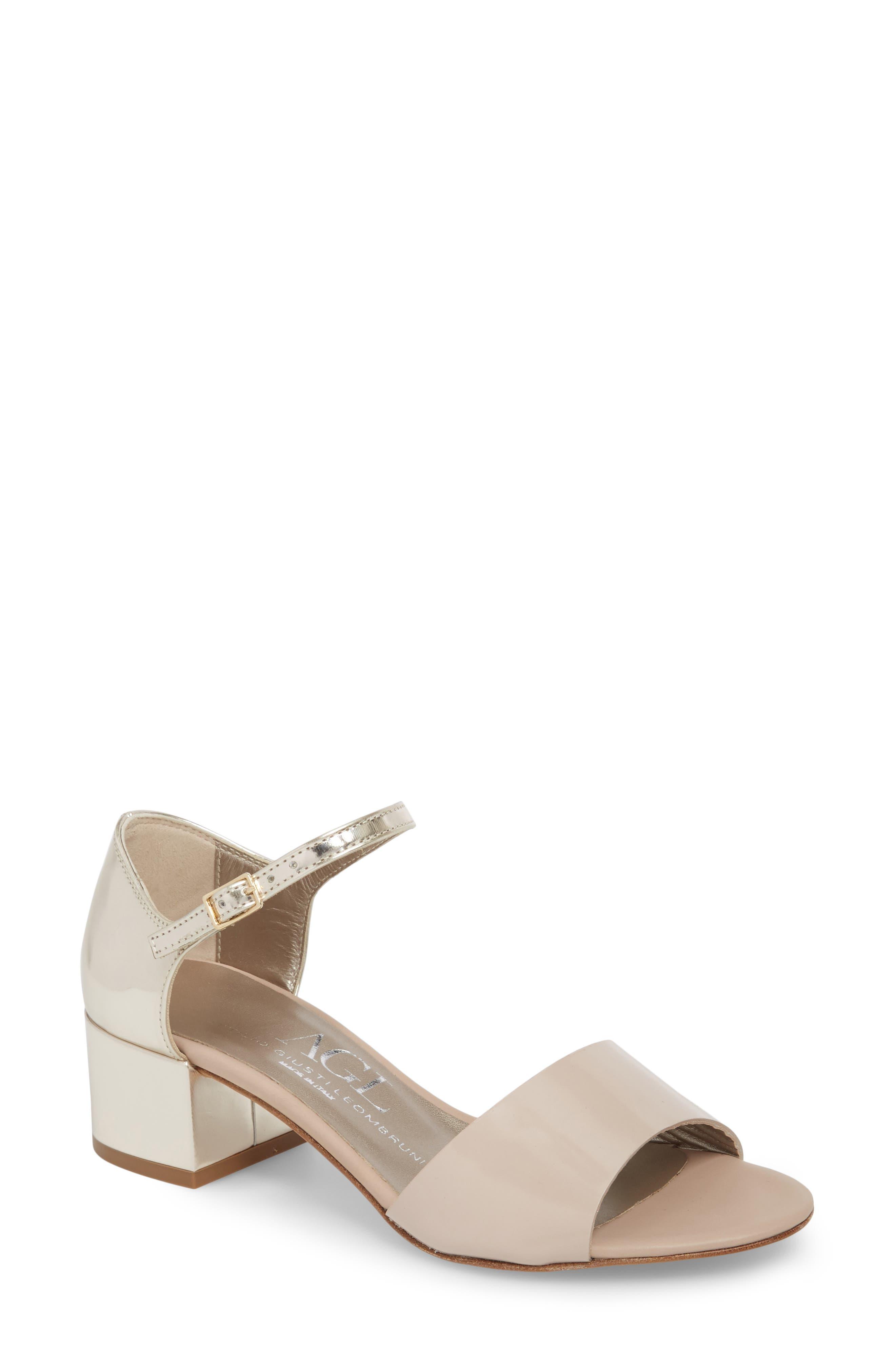 Alternate Image 1 Selected - AGL Quarter Strap Sandal (Women)
