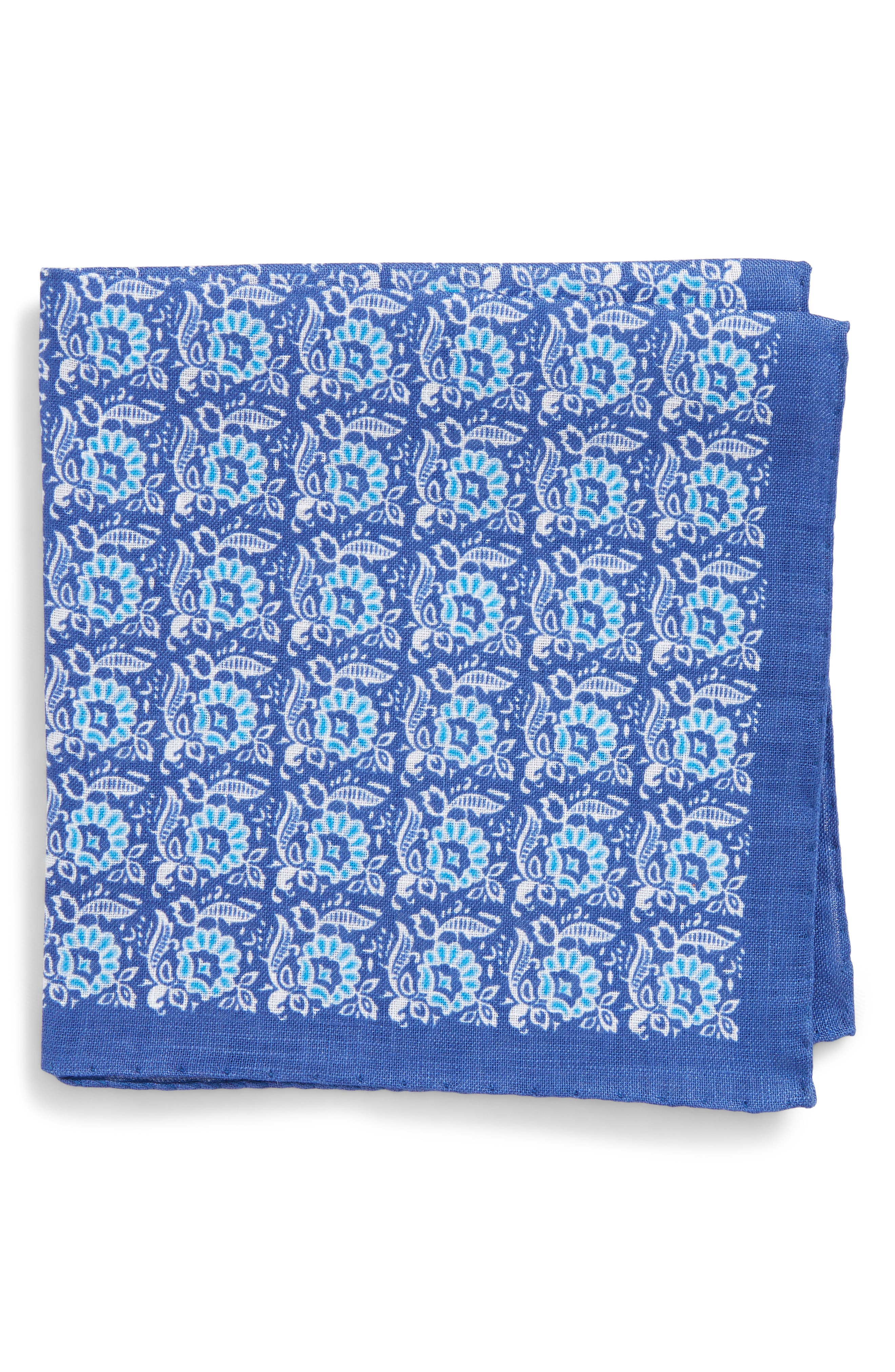 Strong Suit Linen Pocket Square