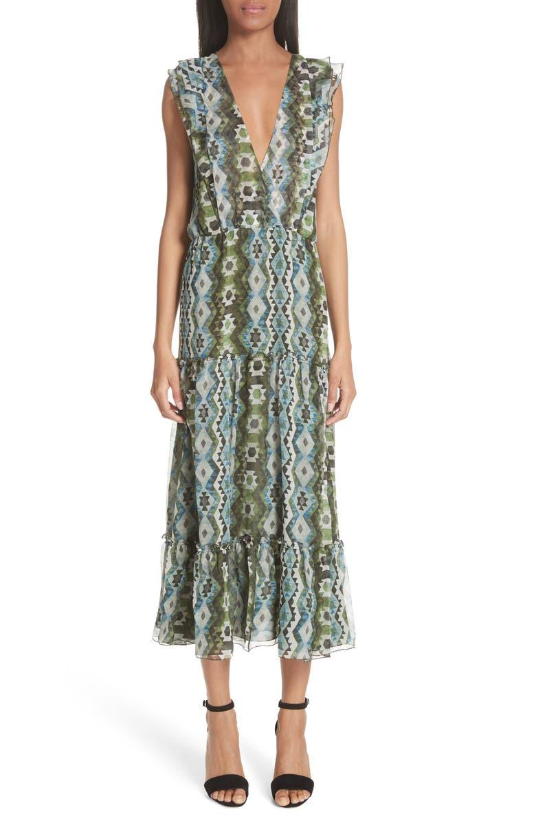 Jorma Print Silk Dress