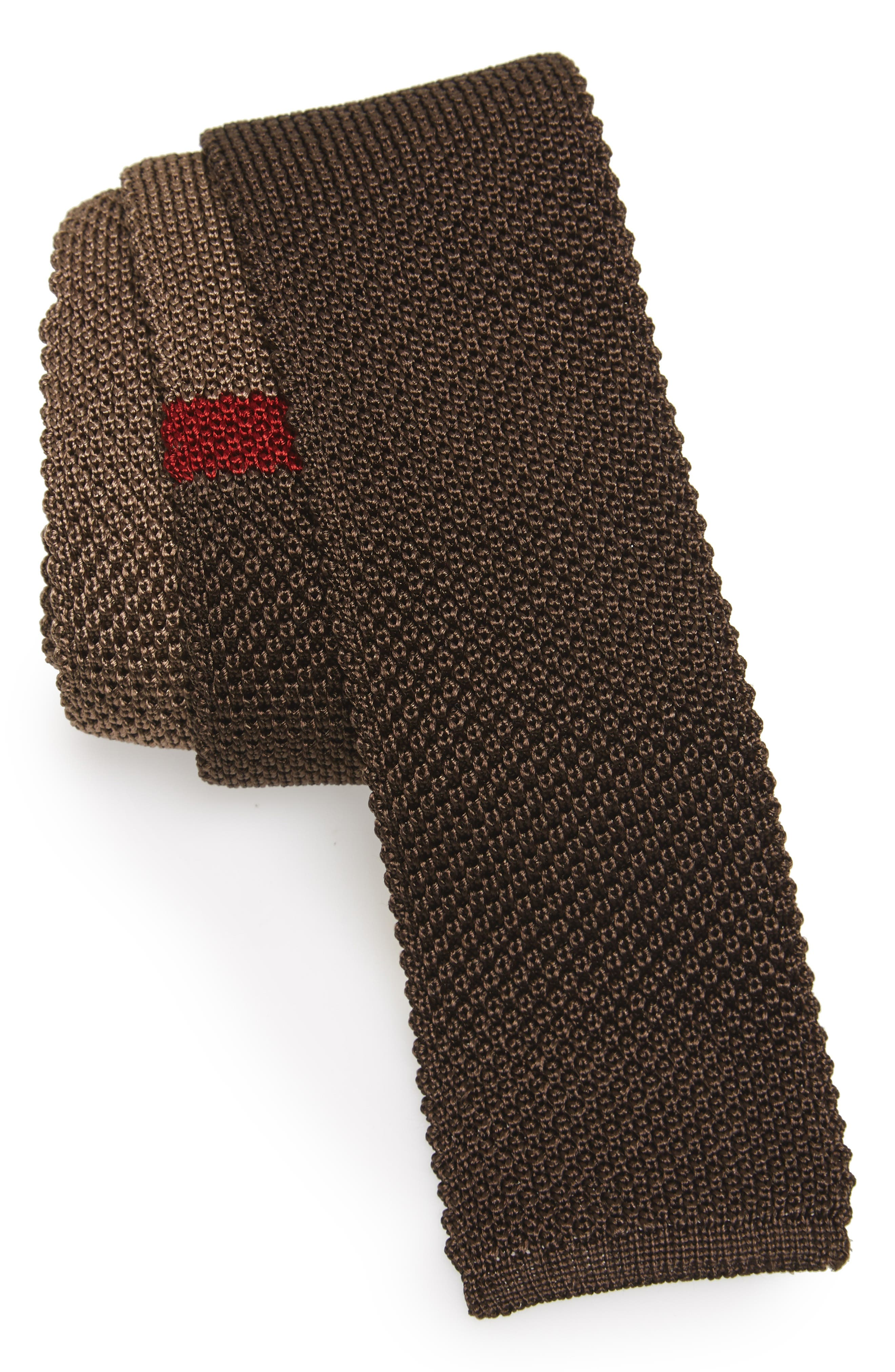 Salvatore Ferragamo Egeo Knit Silk Tie