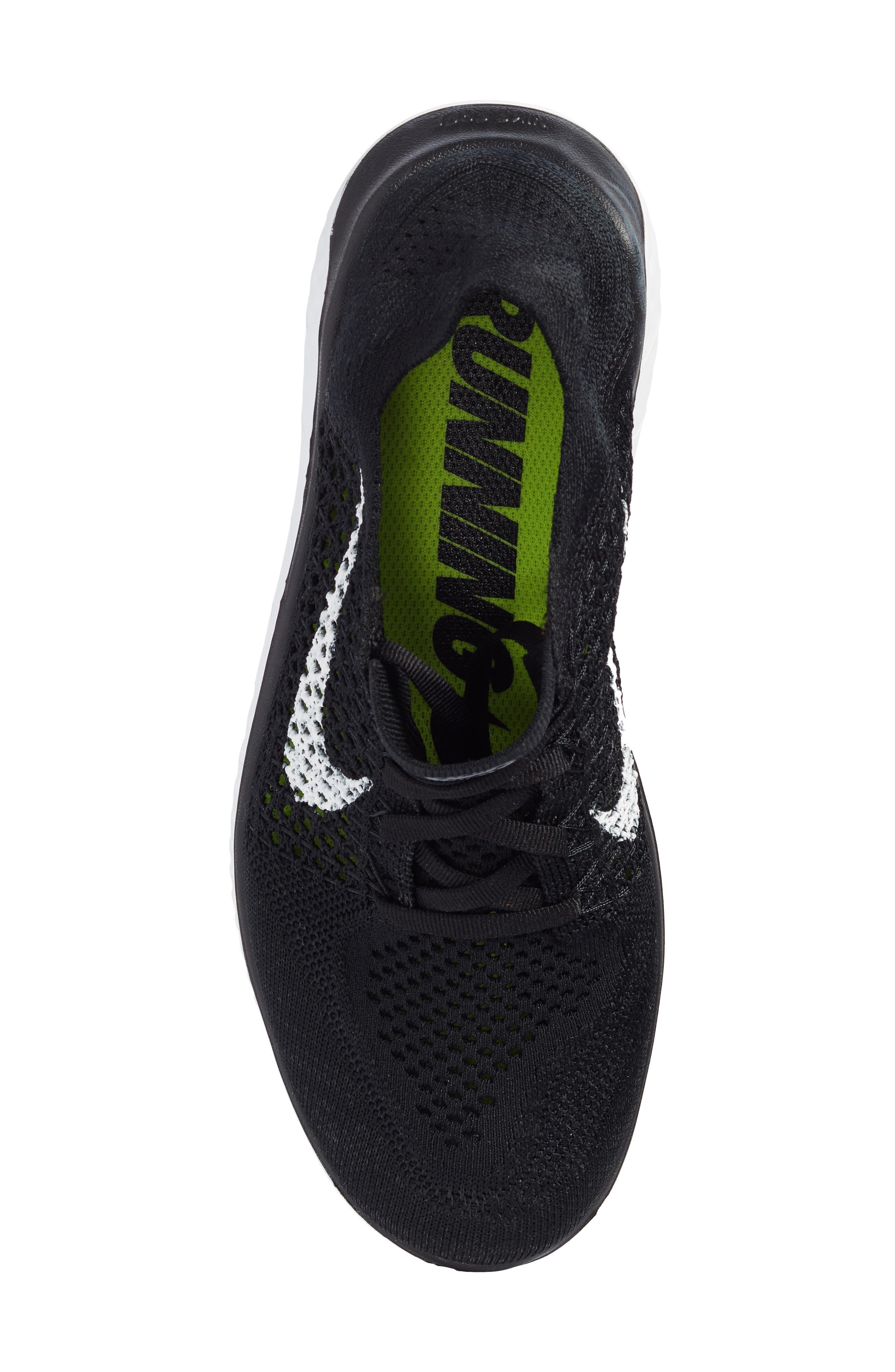 Alternate Image 5  - Nike Free RN Flyknit 2018 Running Shoe (Women)