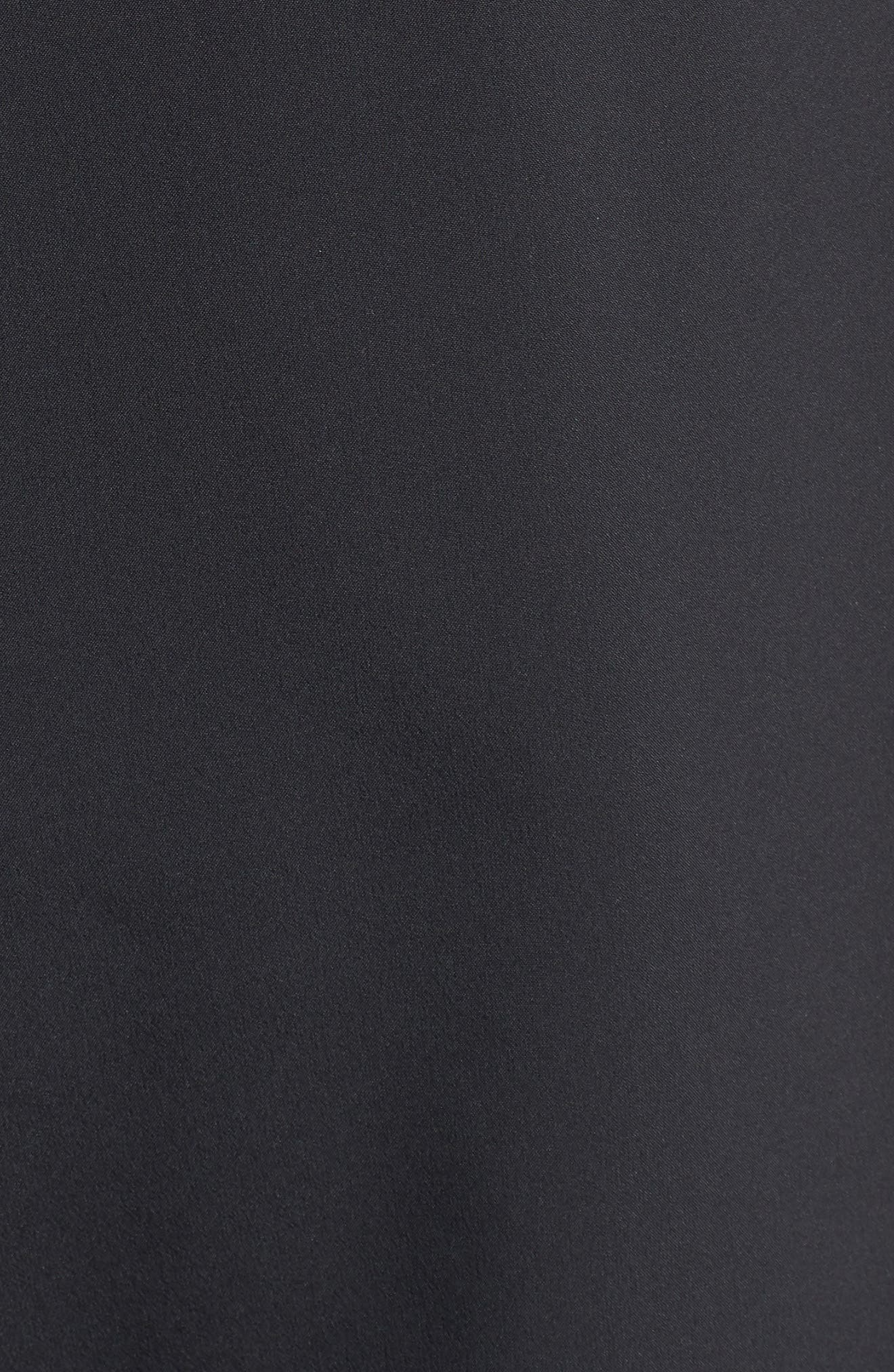 Flex Distance Running Shorts,                             Alternate thumbnail 5, color,                             Black/ Black
