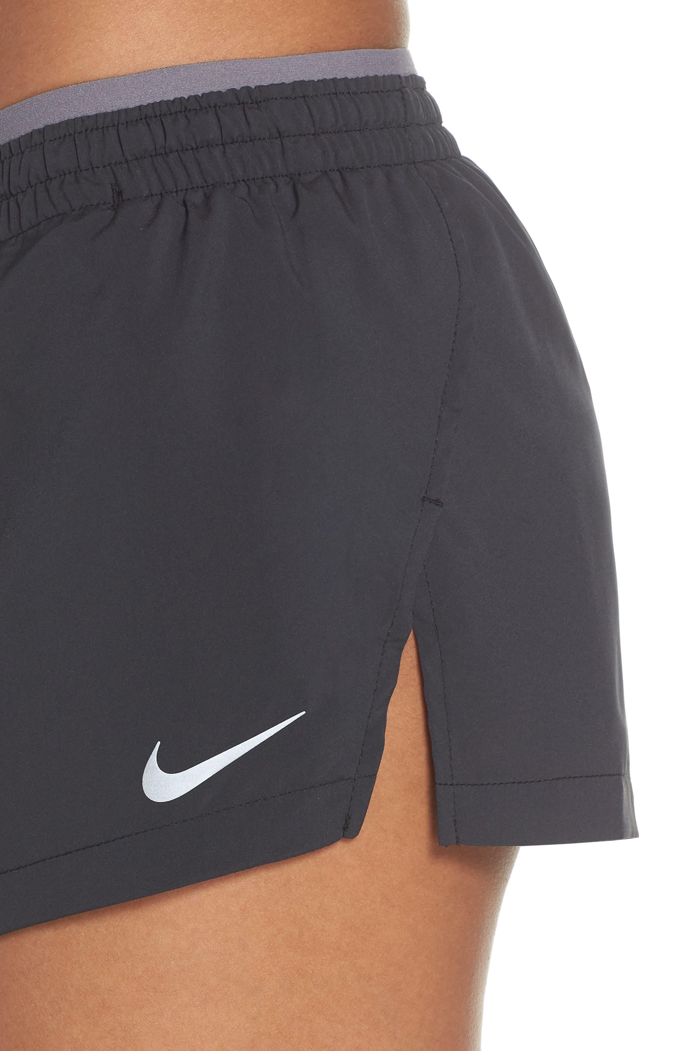 Flex Running Shorts,                             Alternate thumbnail 4, color,                             Black/ Gunsmoke