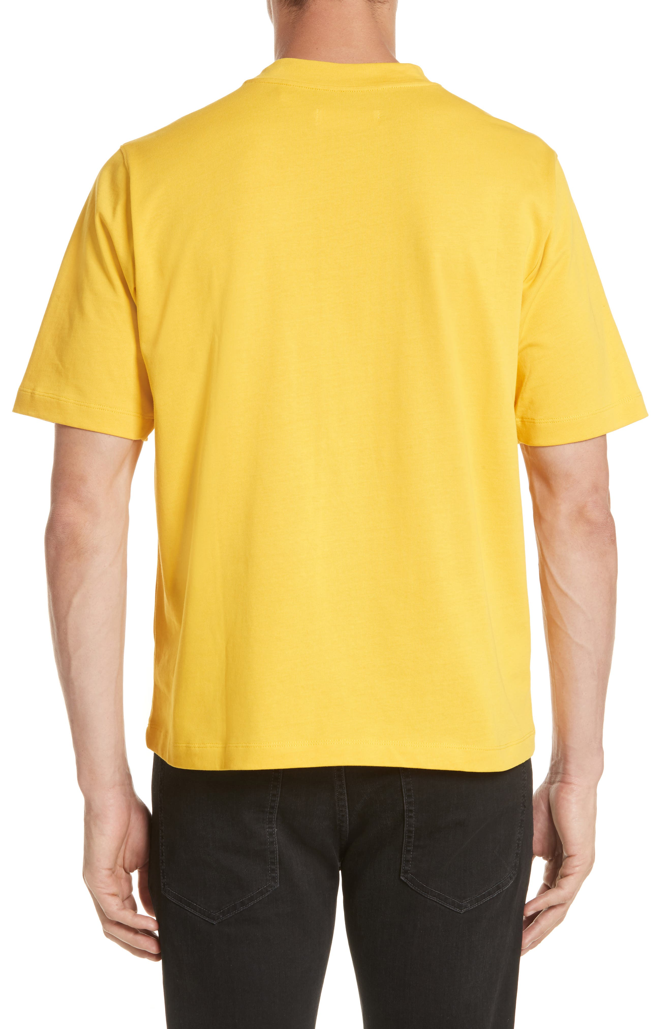 Tall T-Shirt,                             Alternate thumbnail 2, color,                             Yellow
