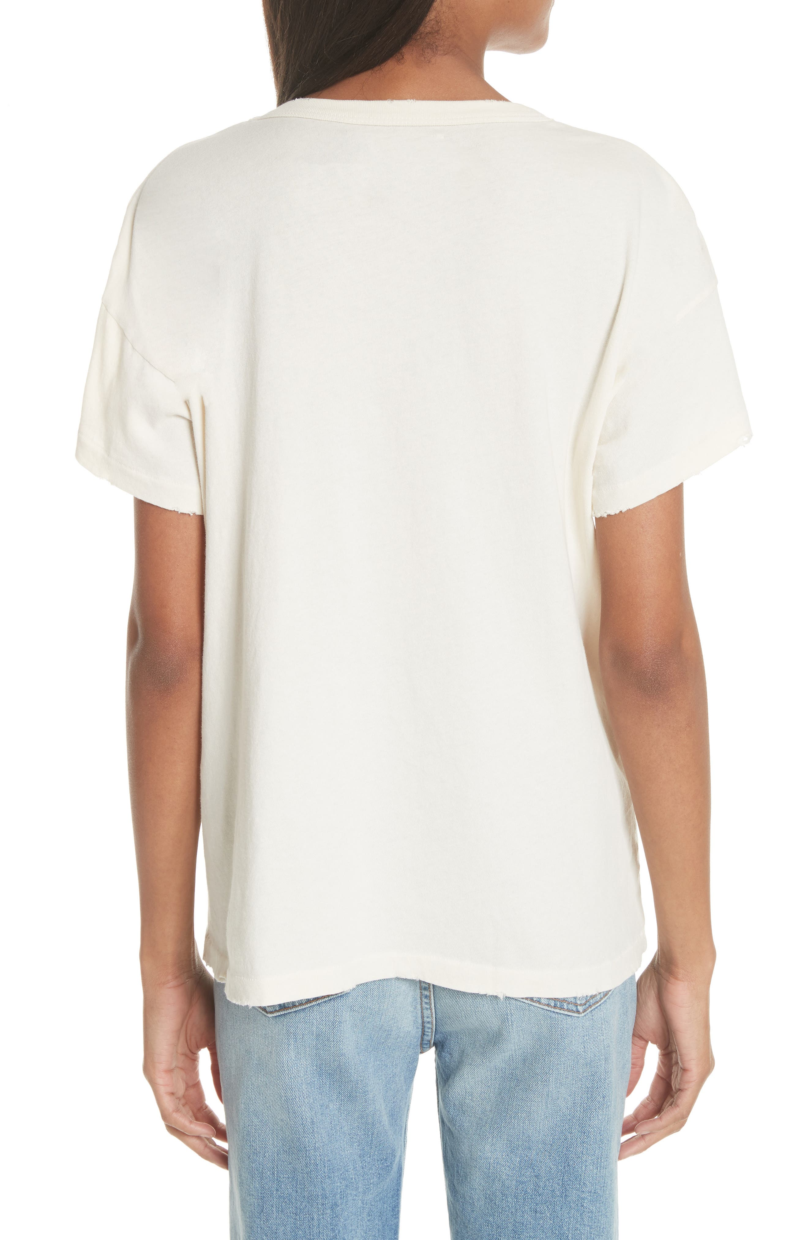 Tee,                             Alternate thumbnail 2, color,                             Washed White