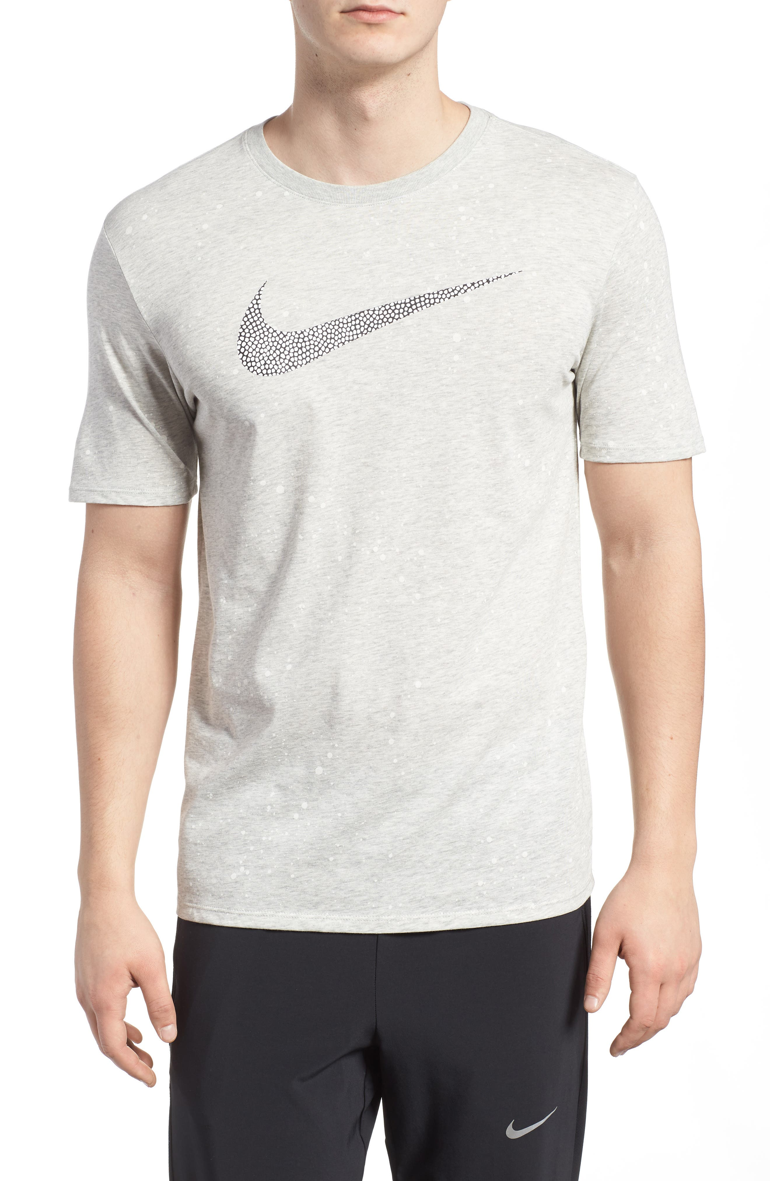 Dry T-Shirt,                         Main,                         color, Grey Heather