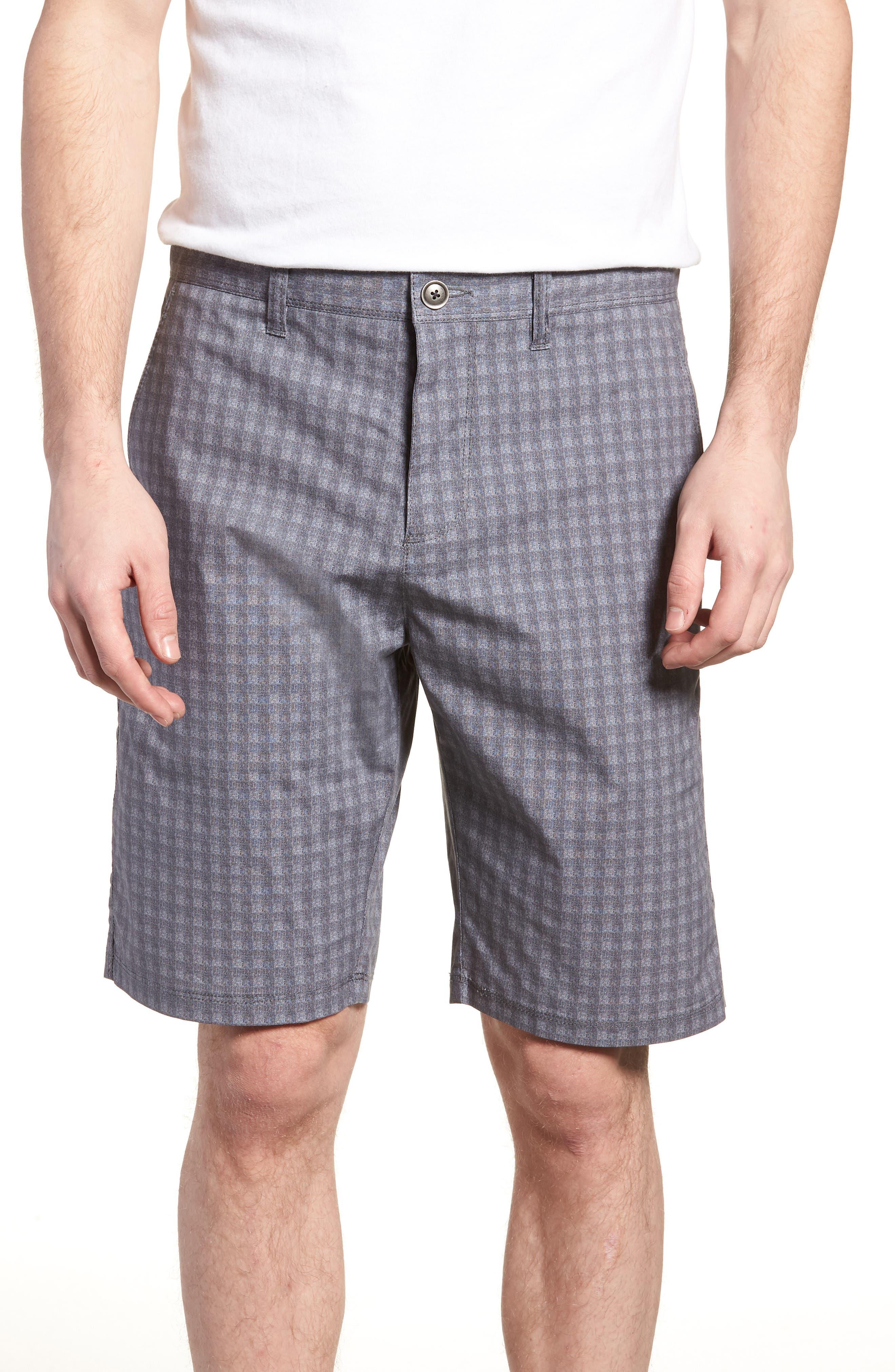 Alternate Image 1 Selected - W.R.K Tristen Check Shorts