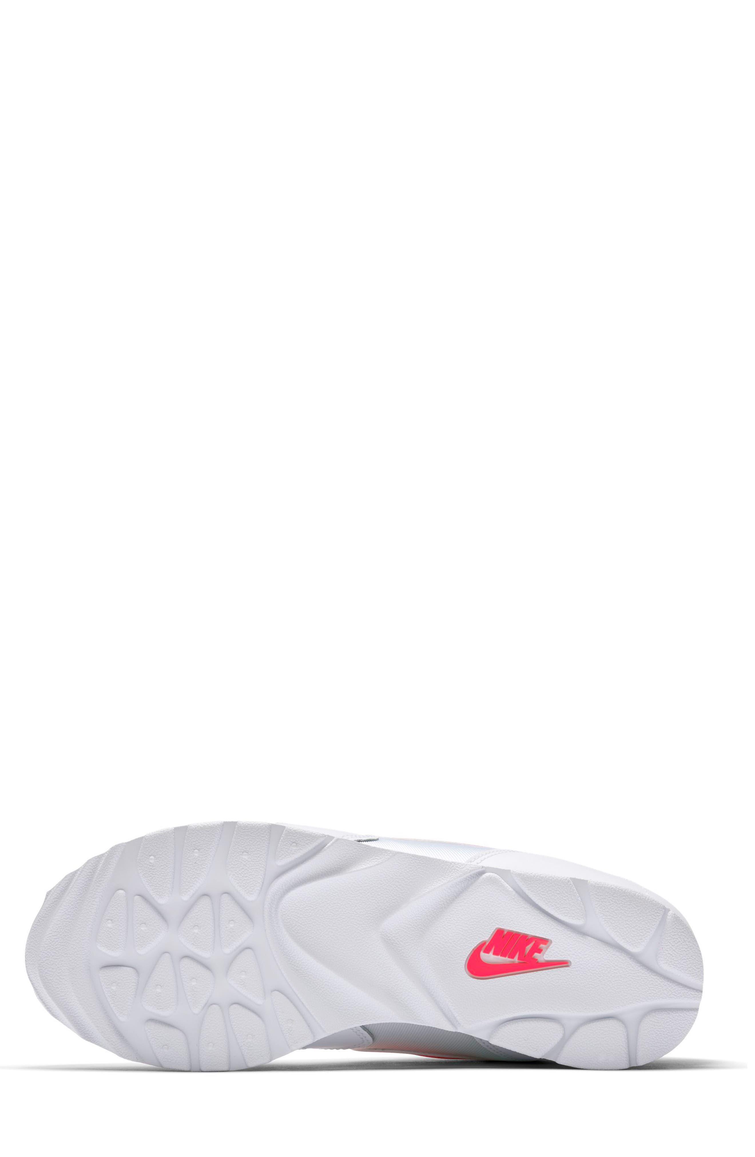 Outburst OG Sneaker,                             Alternate thumbnail 5, color,                             White/ Solar Red