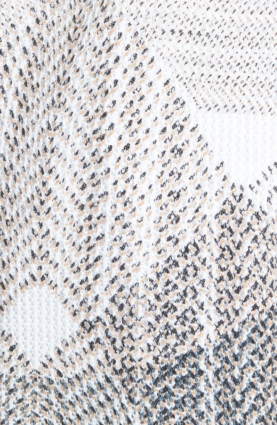 Alternate Image 3  - NIC+ZOE 'Dashed Diamonds' Long Cardigan (Regular & Petite)