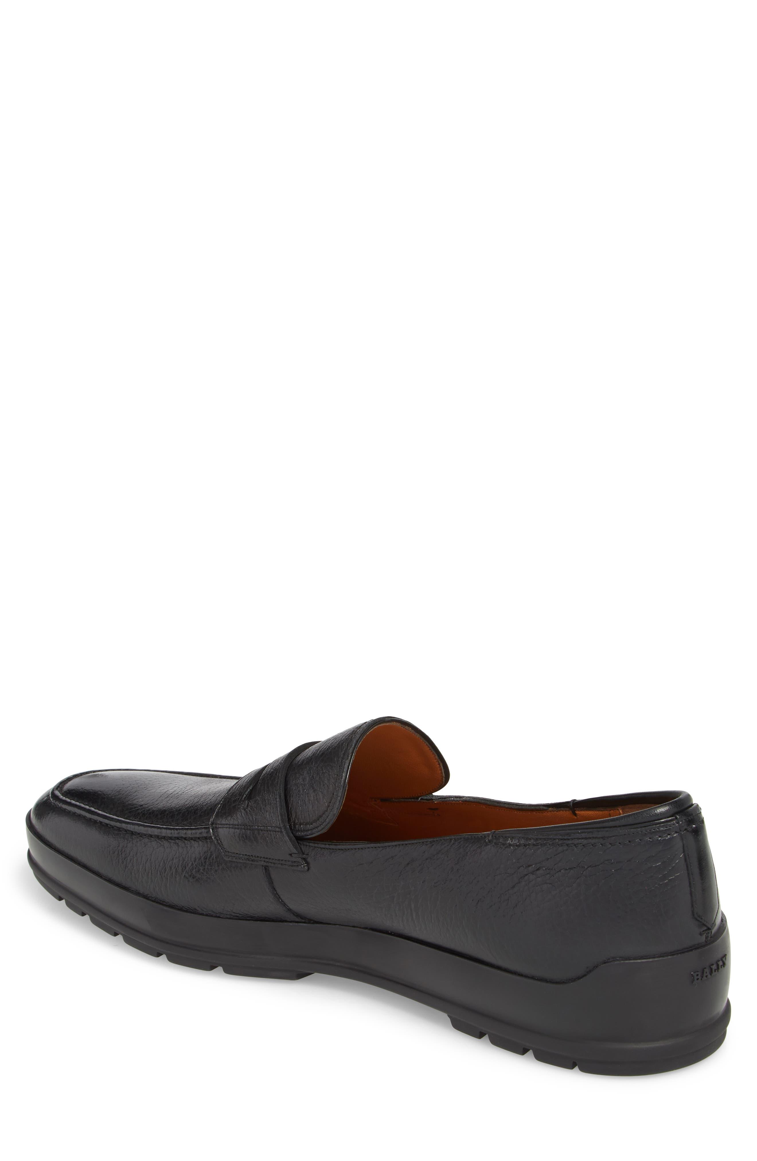 Relon Hybrid Penny Loafer,                             Alternate thumbnail 2, color,                             Black