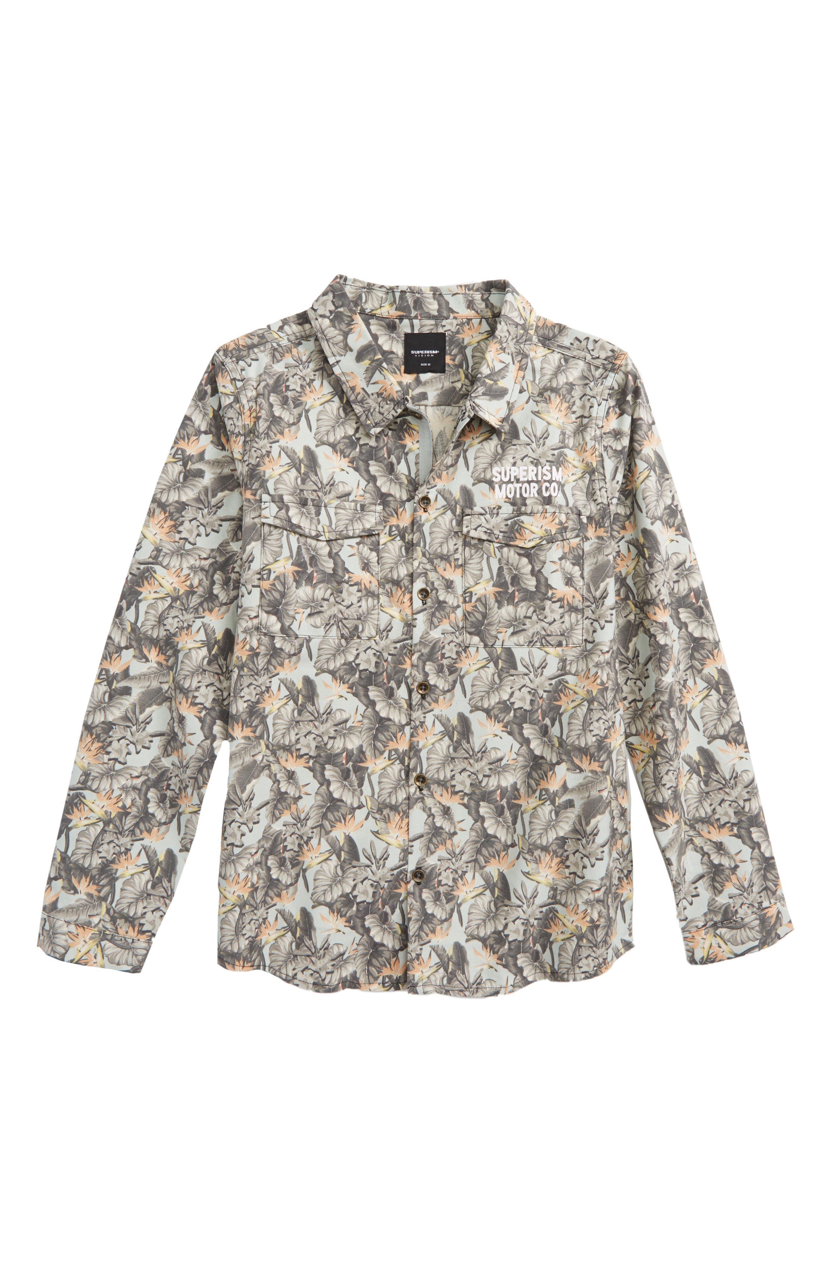 Alternate Image 1 Selected - Superism Eli Woven Shirt (Big Boys)