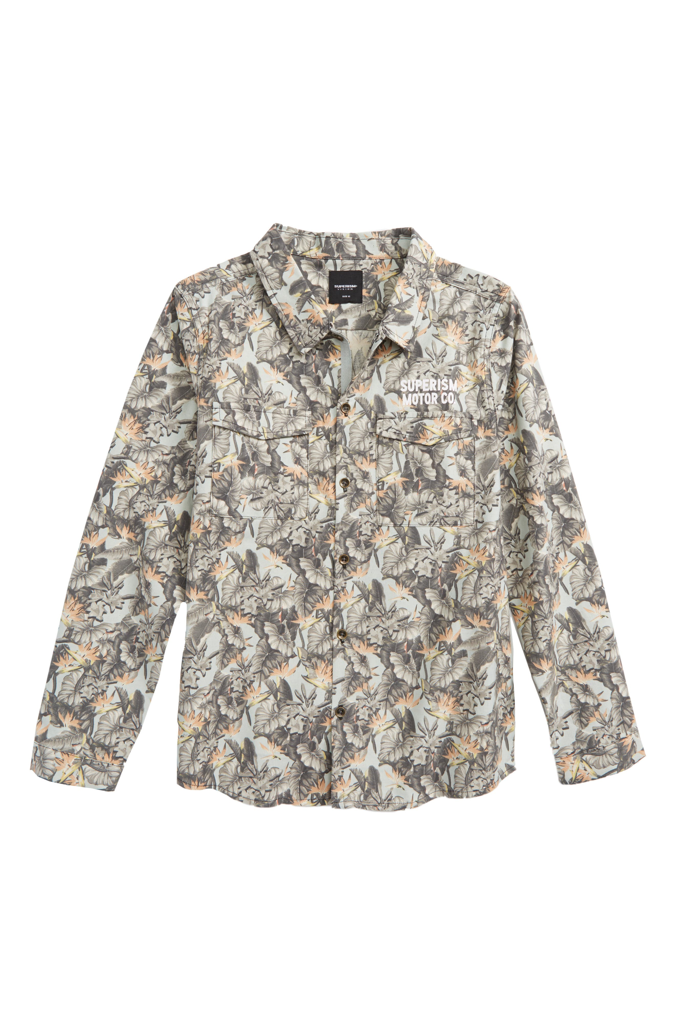 Main Image - Superism Eli Woven Shirt (Big Boys)