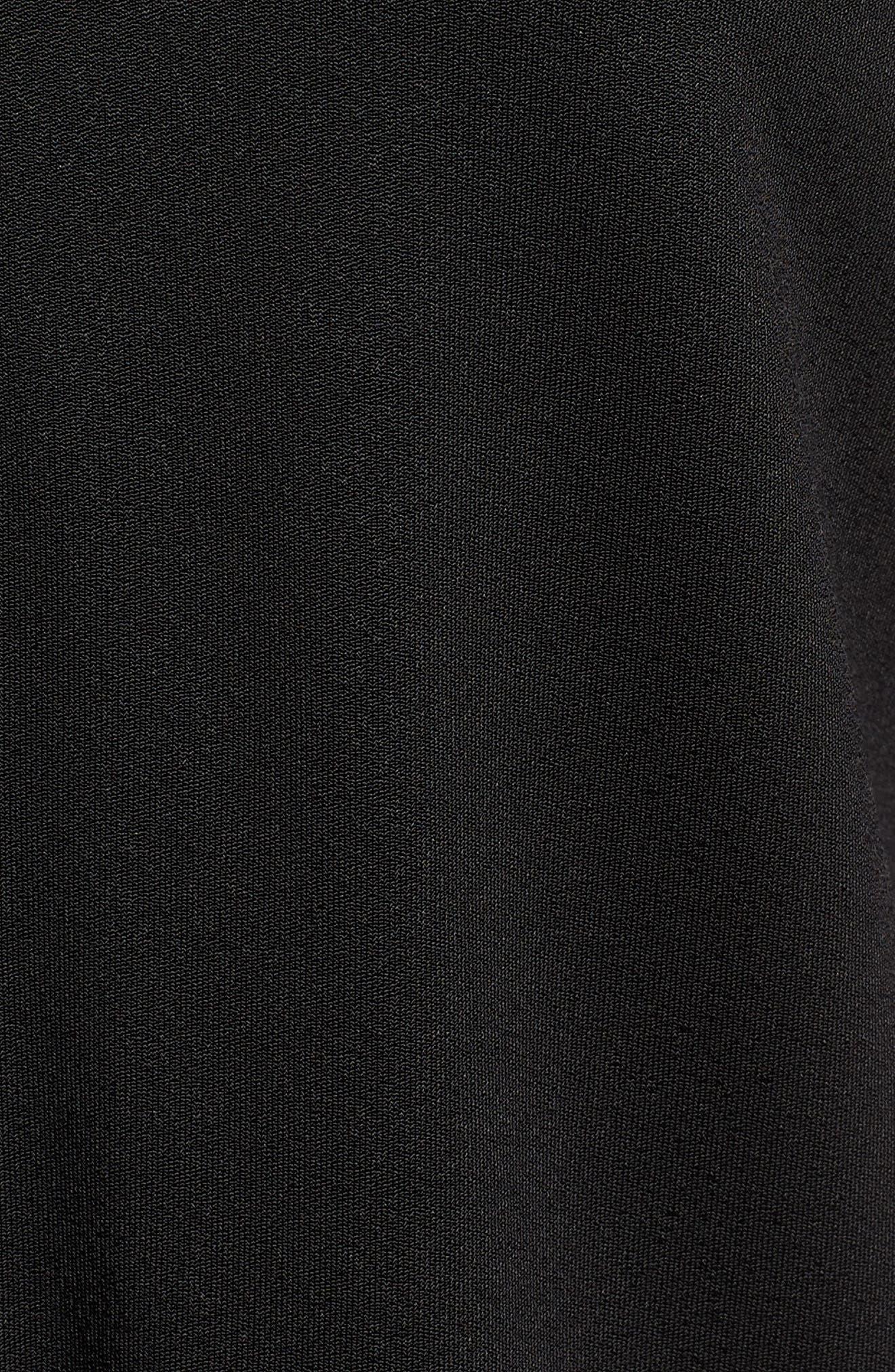 Elenka Top,                             Alternate thumbnail 6, color,                             Black