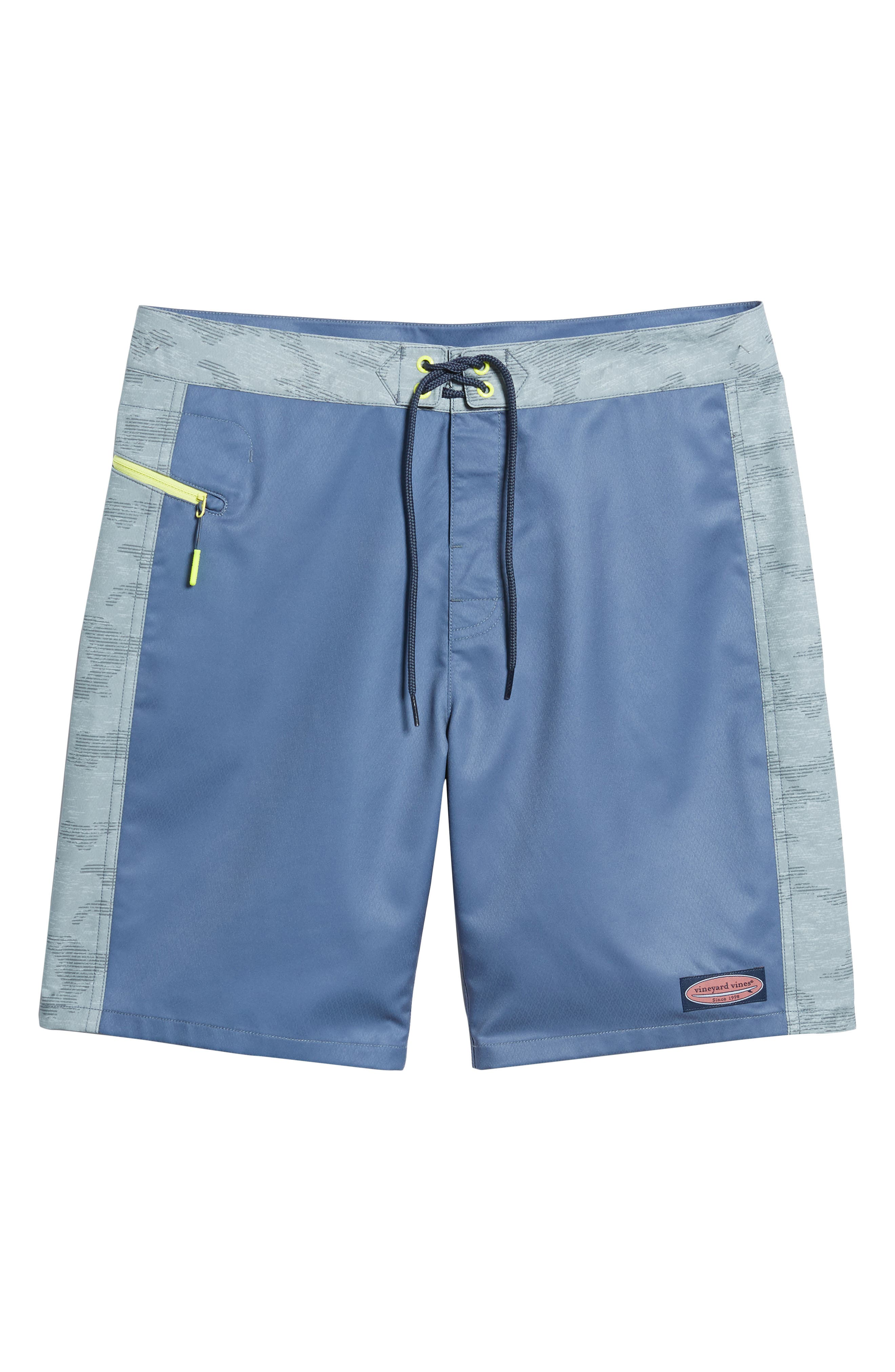 Camo Board Shorts,                             Alternate thumbnail 6, color,                             Monument Grey