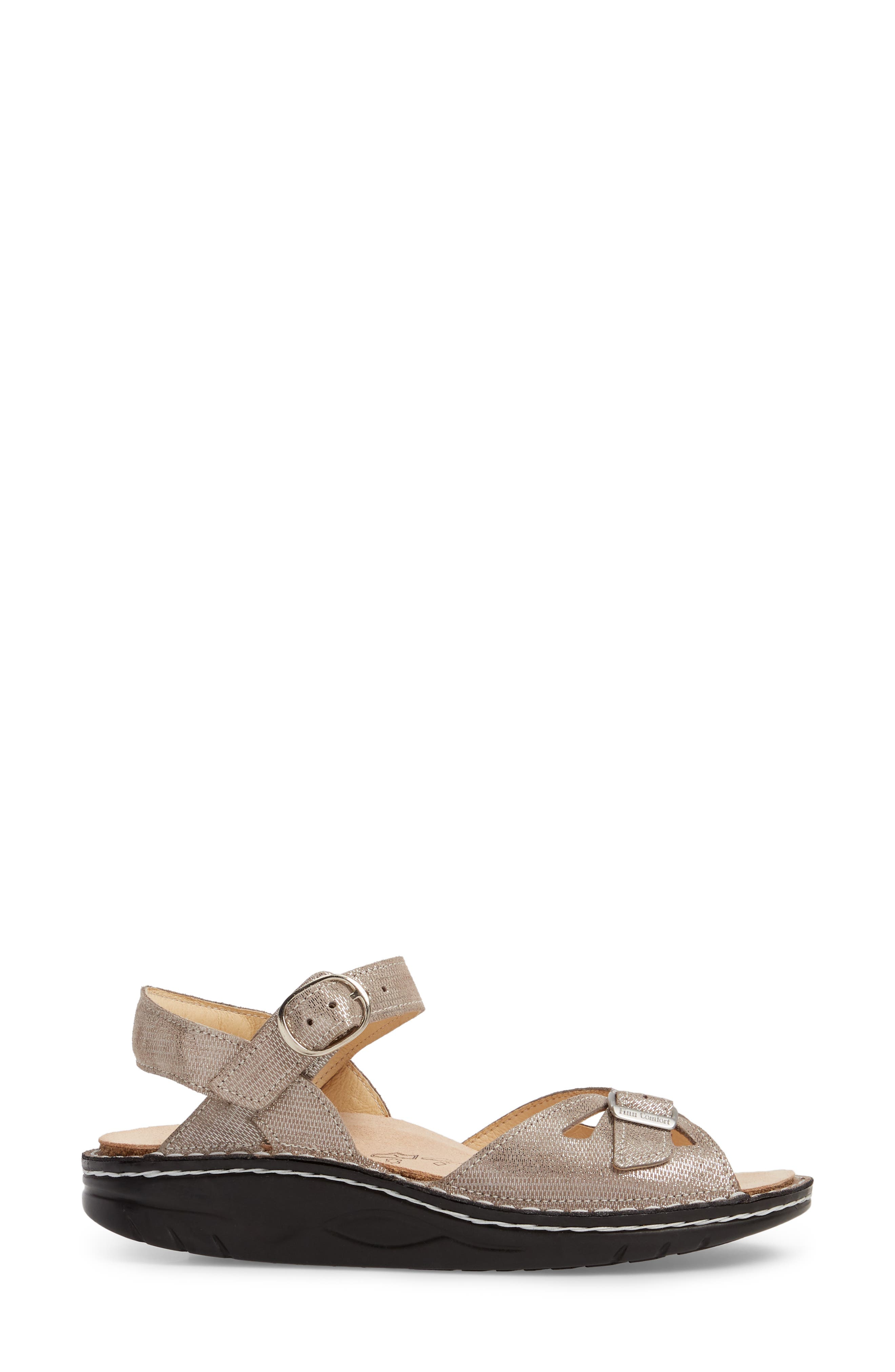 Motomachi Sandal,                             Alternate thumbnail 3, color,                             Fango Leather