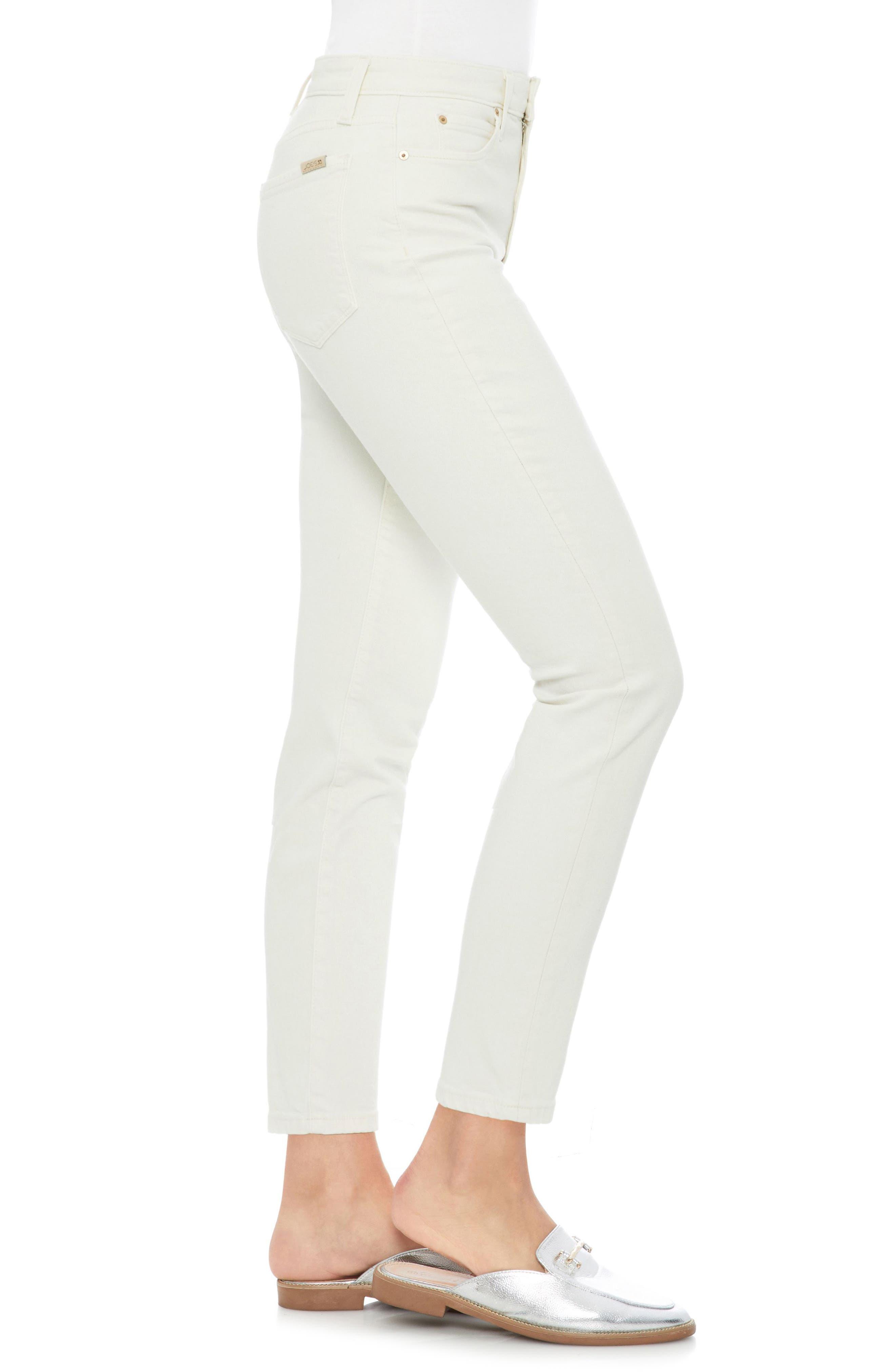 Smith High Waist Ankle Slim Jeans,                             Alternate thumbnail 3, color,                             Layton