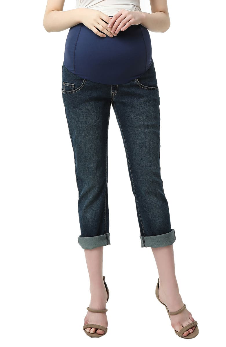 Jodie Crop Girlfriend Maternity Jeans