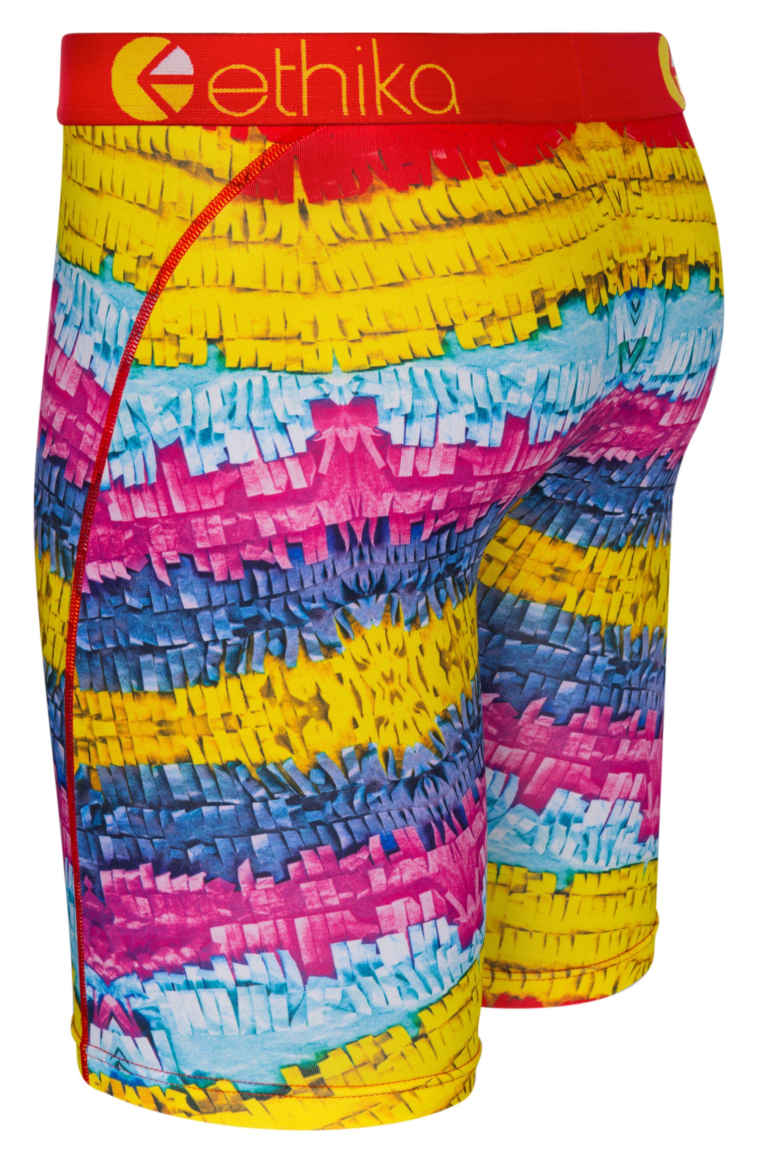 Piñata Stretch Boxer Briefs,                             Alternate thumbnail 3, color,                             Assorted
