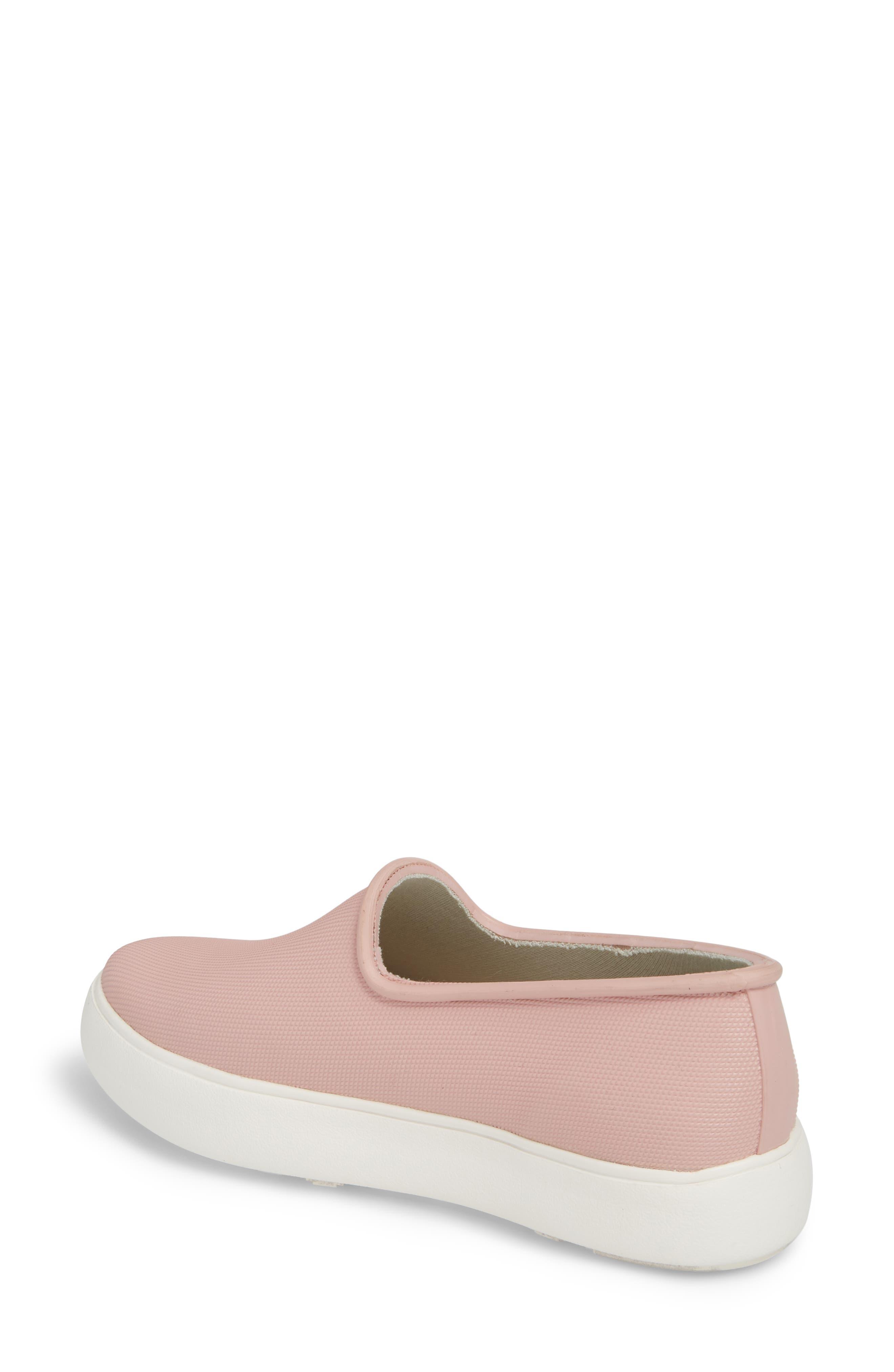 Rainy Day Waterproof Slip-On Sneaker,                             Alternate thumbnail 2, color,                             Dusty Pink