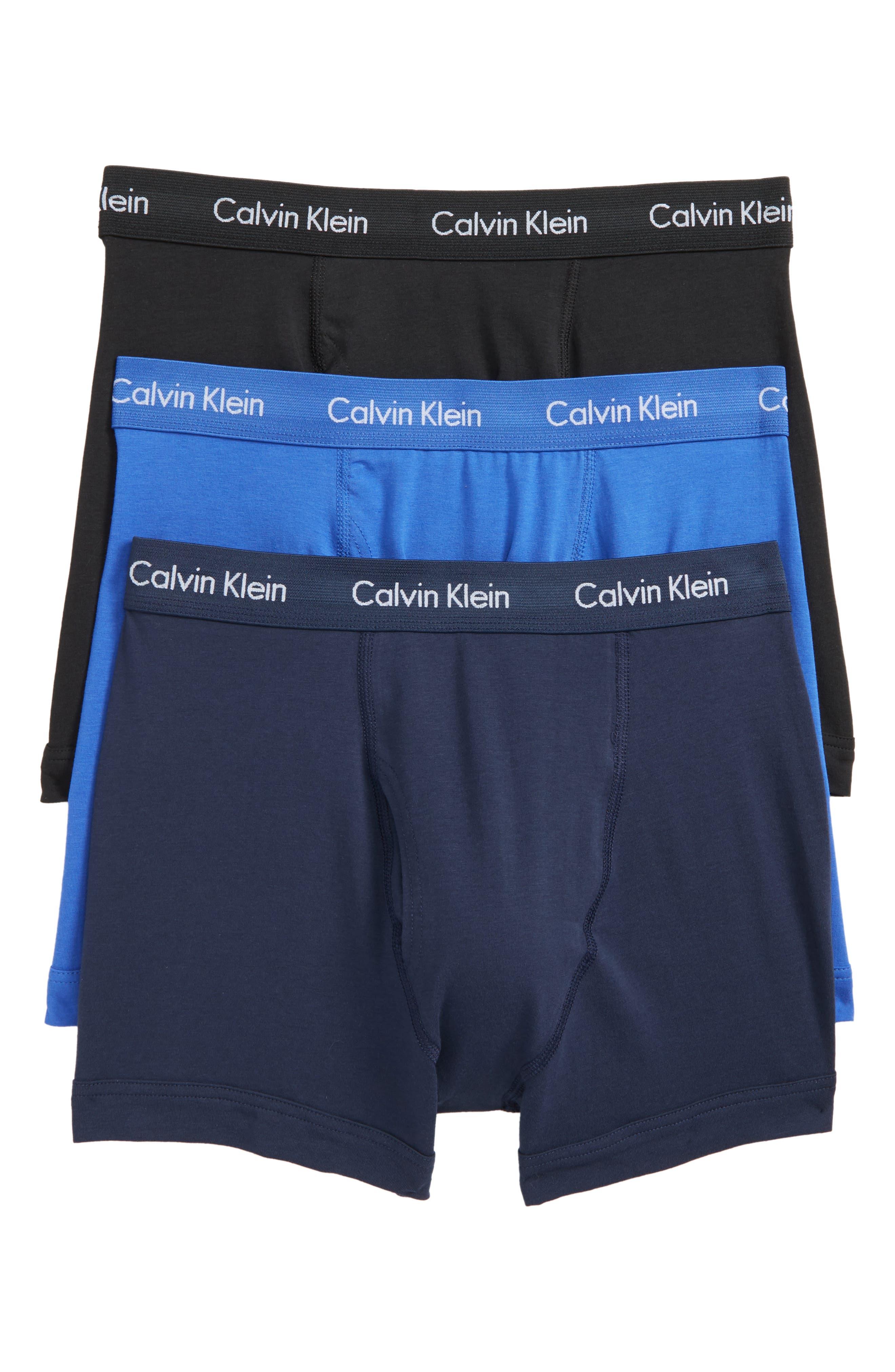 Main Image - Calvin Klein 3-Pack Trunks