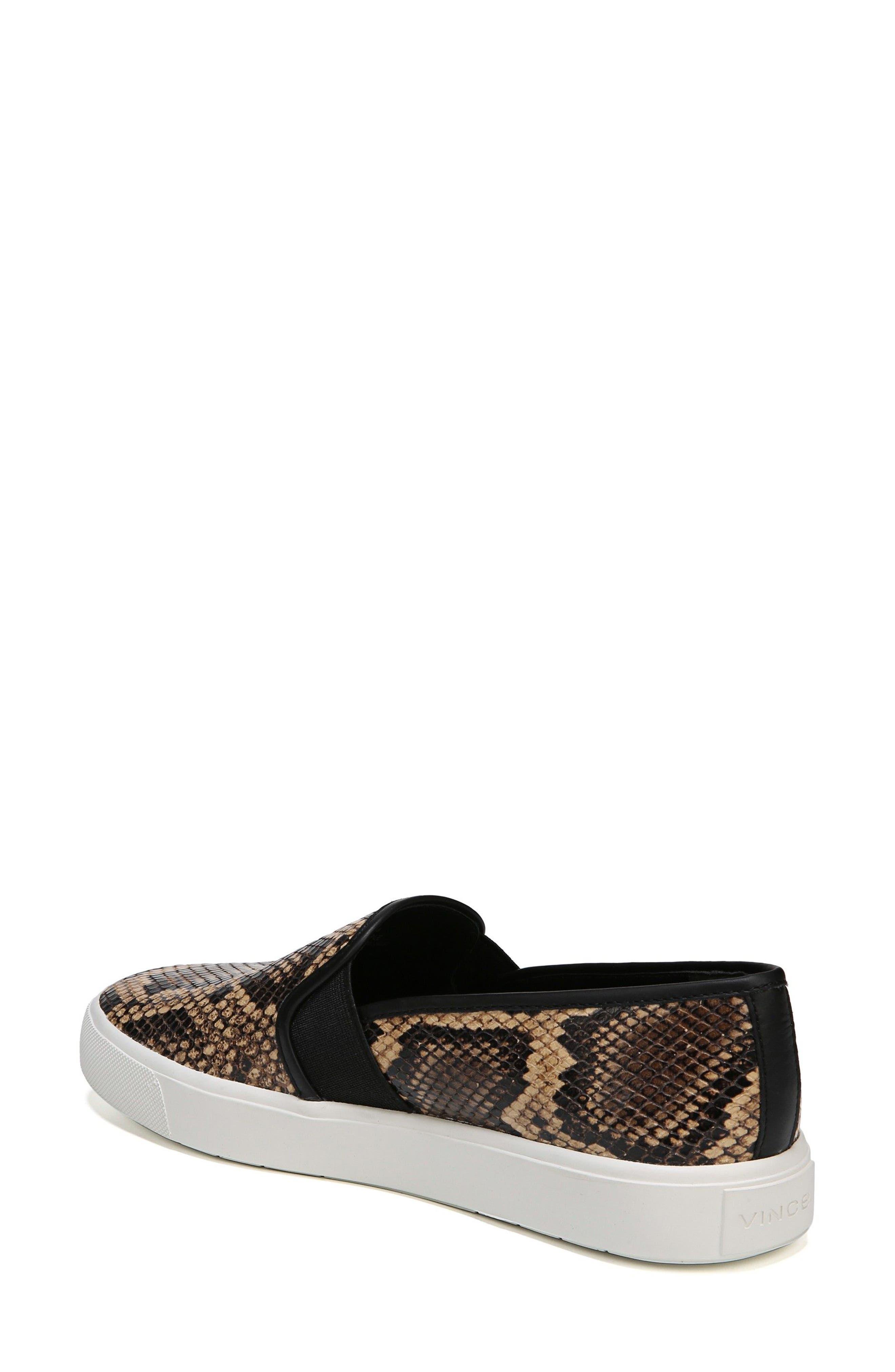 Blair 5 Slip-On Sneaker,                             Alternate thumbnail 2, color,                             Senegal Snake Print