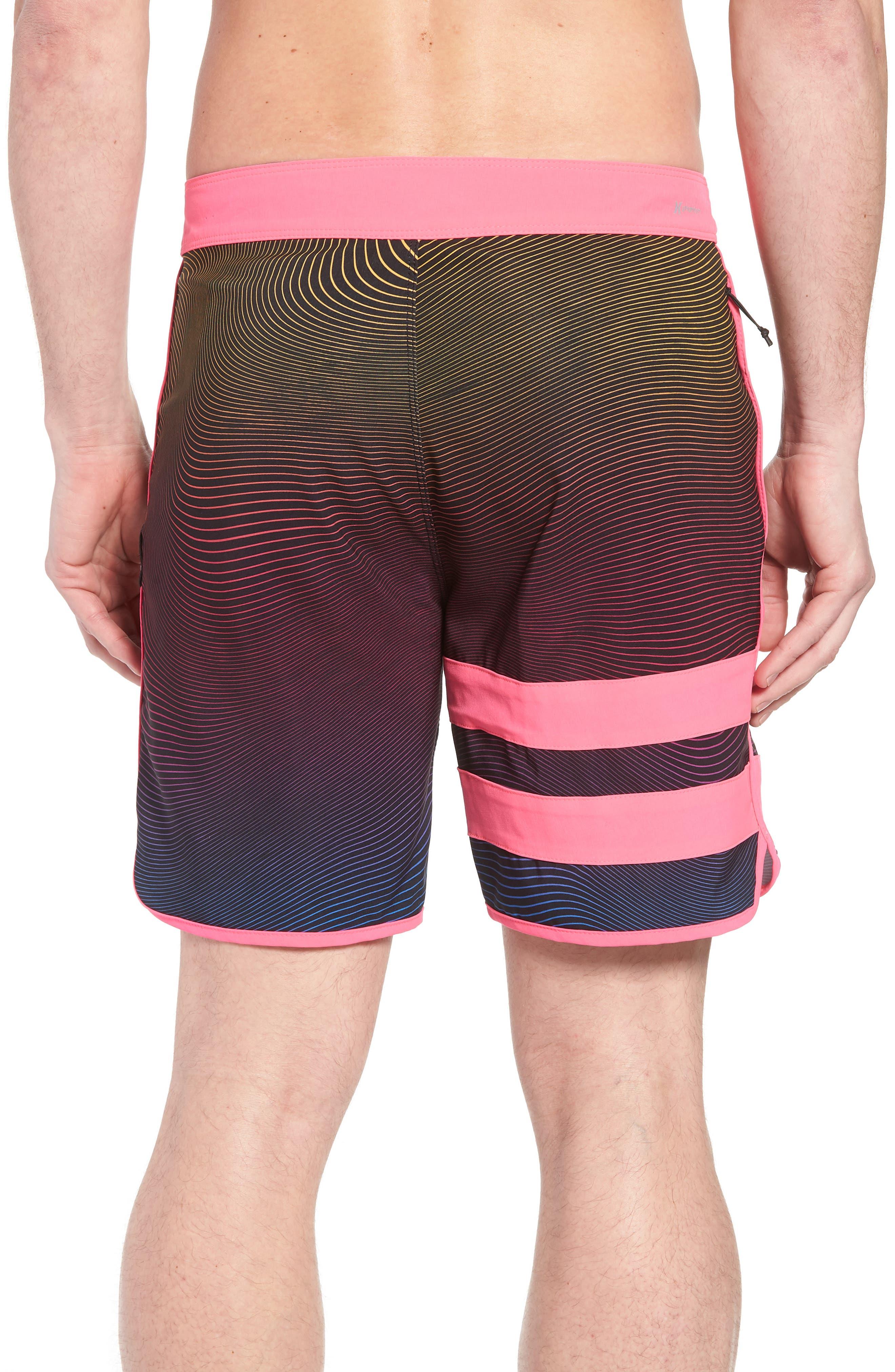 Alternate Image 2  - Hurley Phantom Static Block Party Board Shorts