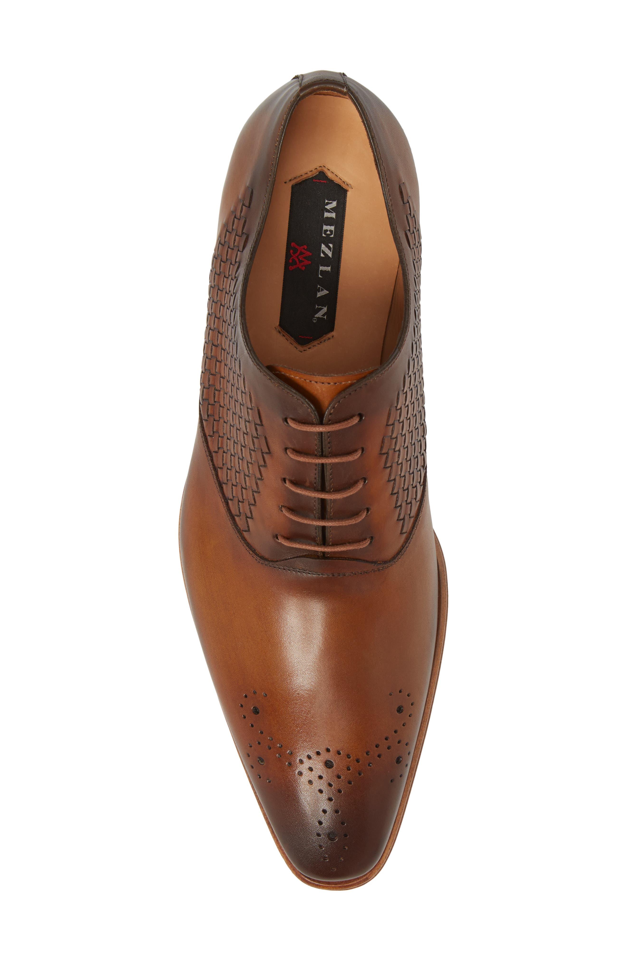 Juventa Woven Oxford,                             Alternate thumbnail 5, color,                             Honey Leather
