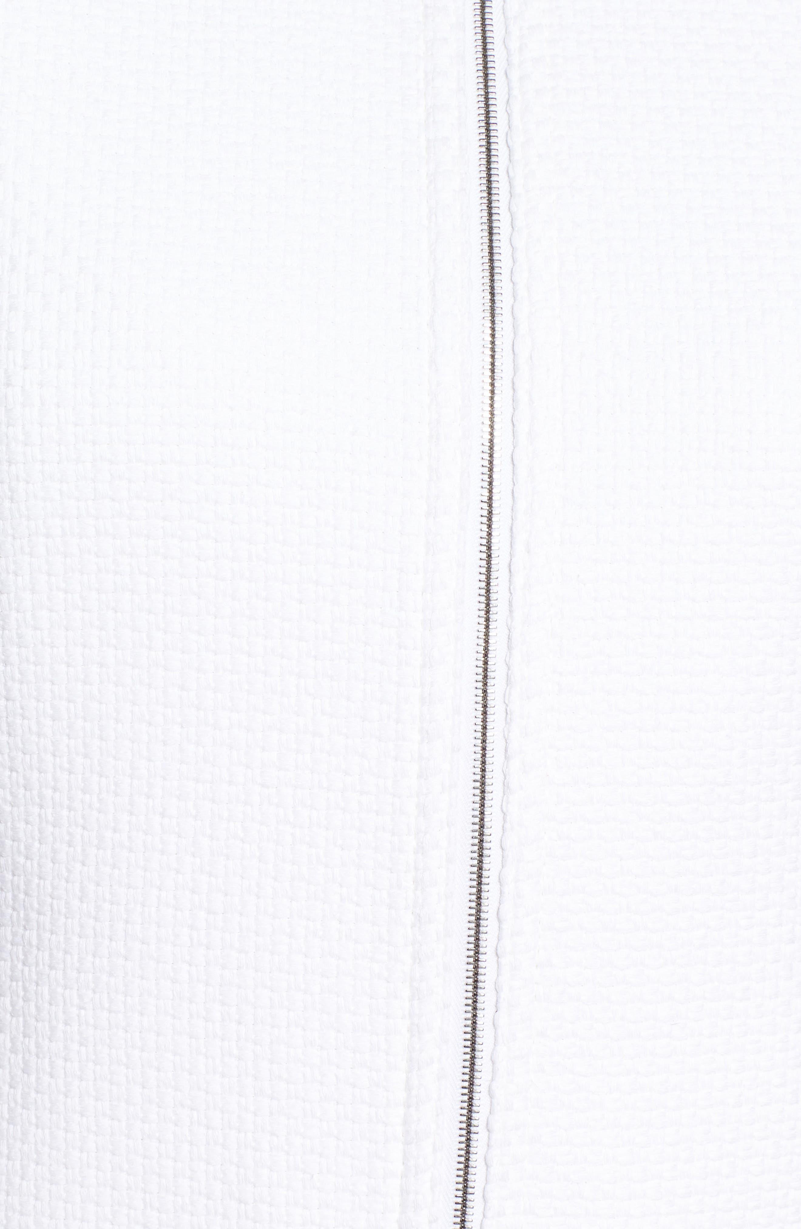 Alternate Image 5  - BOSS Coralie Colorblock Jacket