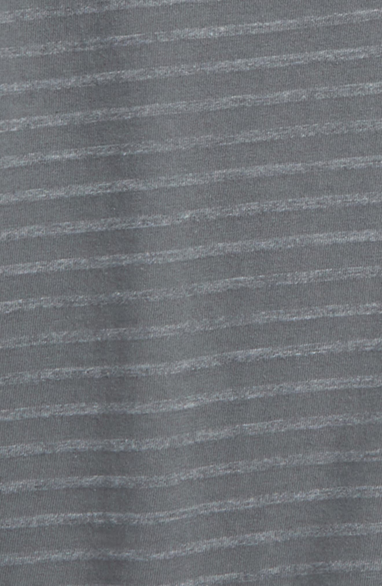 Stripe T-Shirt,                             Alternate thumbnail 2, color,                             Grey Castlerock- Grey