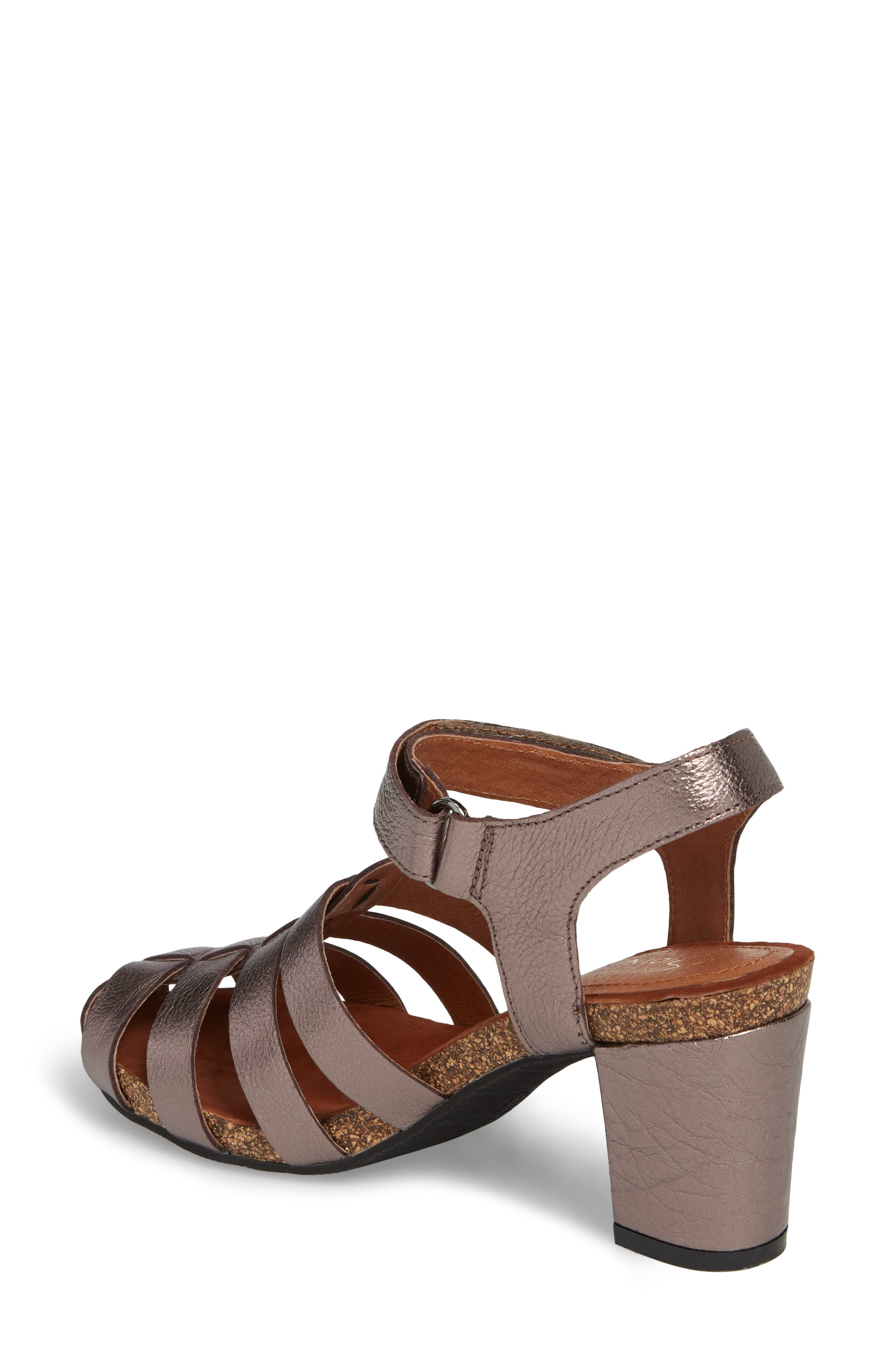 Alternate Image 2  - Sudini Carrara Block Heel Sandal (Women)